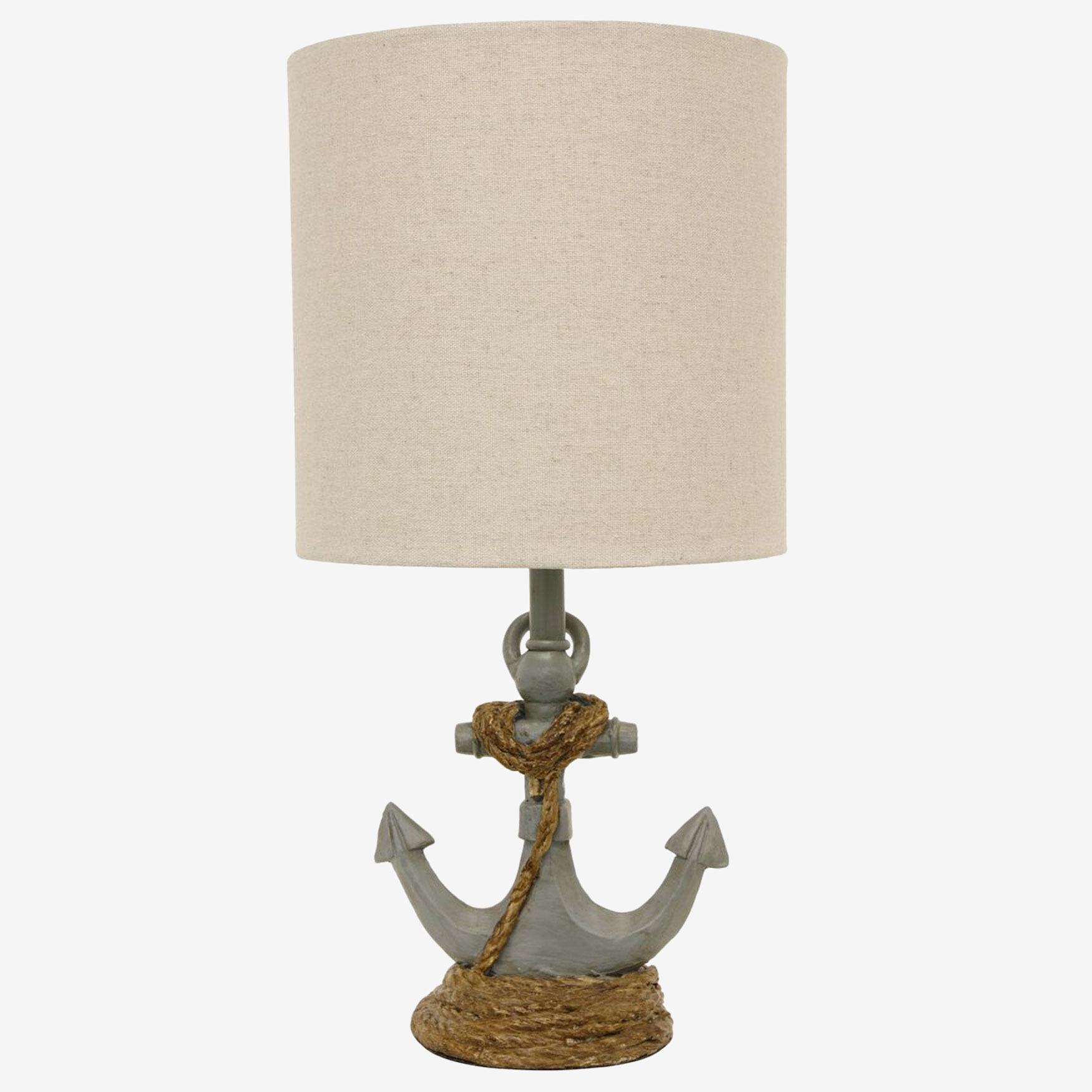 Anchor's Away Table Lamp, BLUE