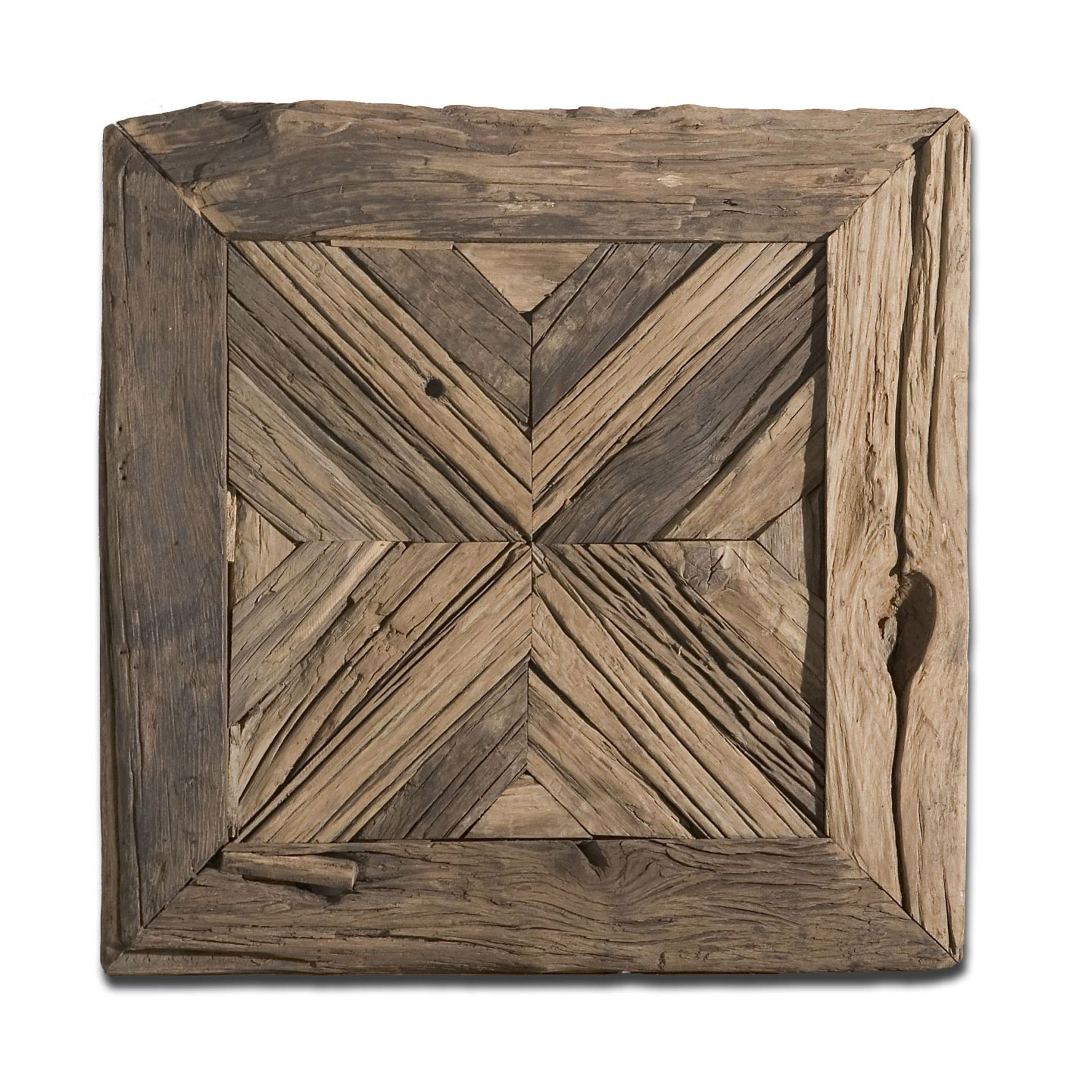 Rennick Reclaimed Wood Wall Art, WOOD