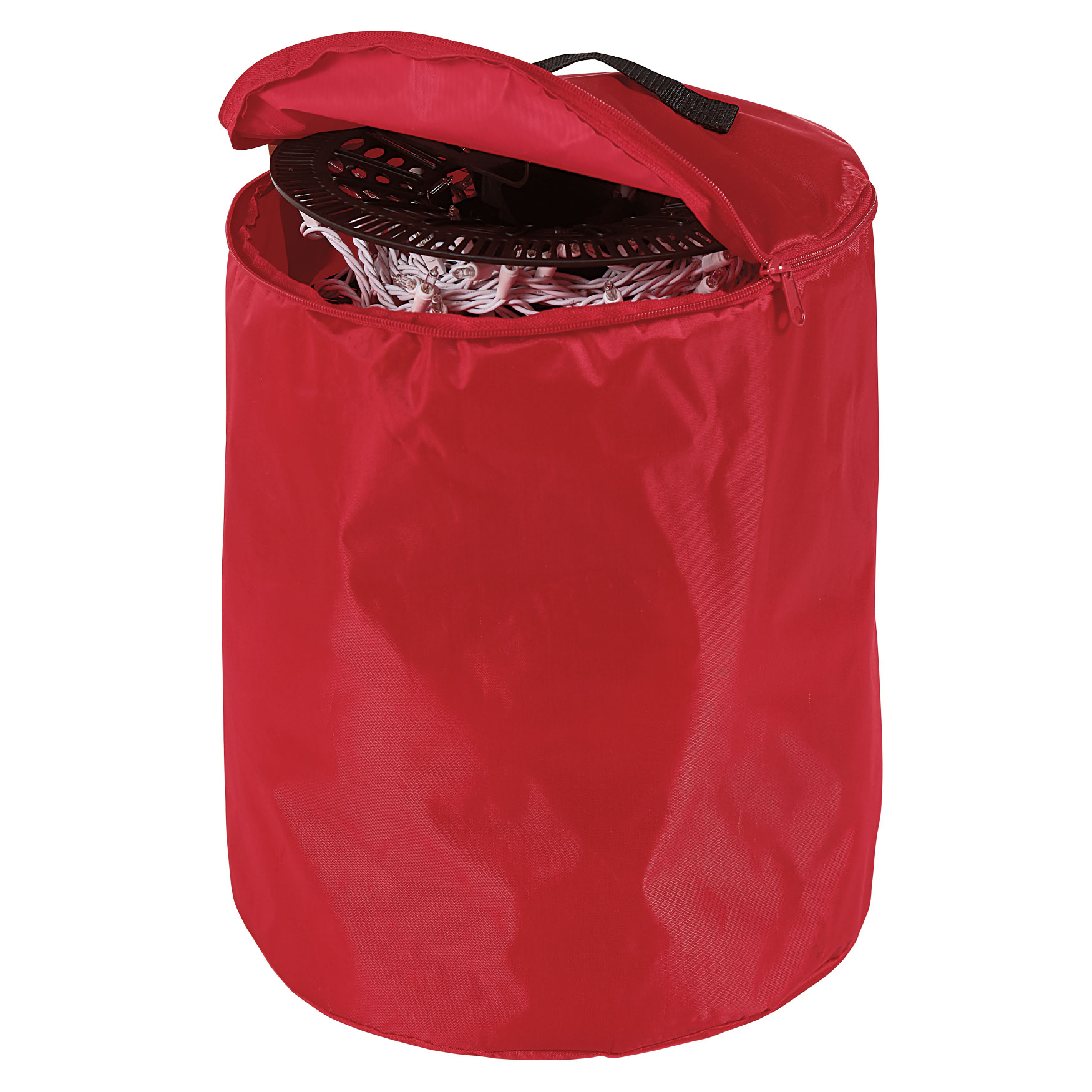 Install N' Store Light Storage Reels and Bag , RED