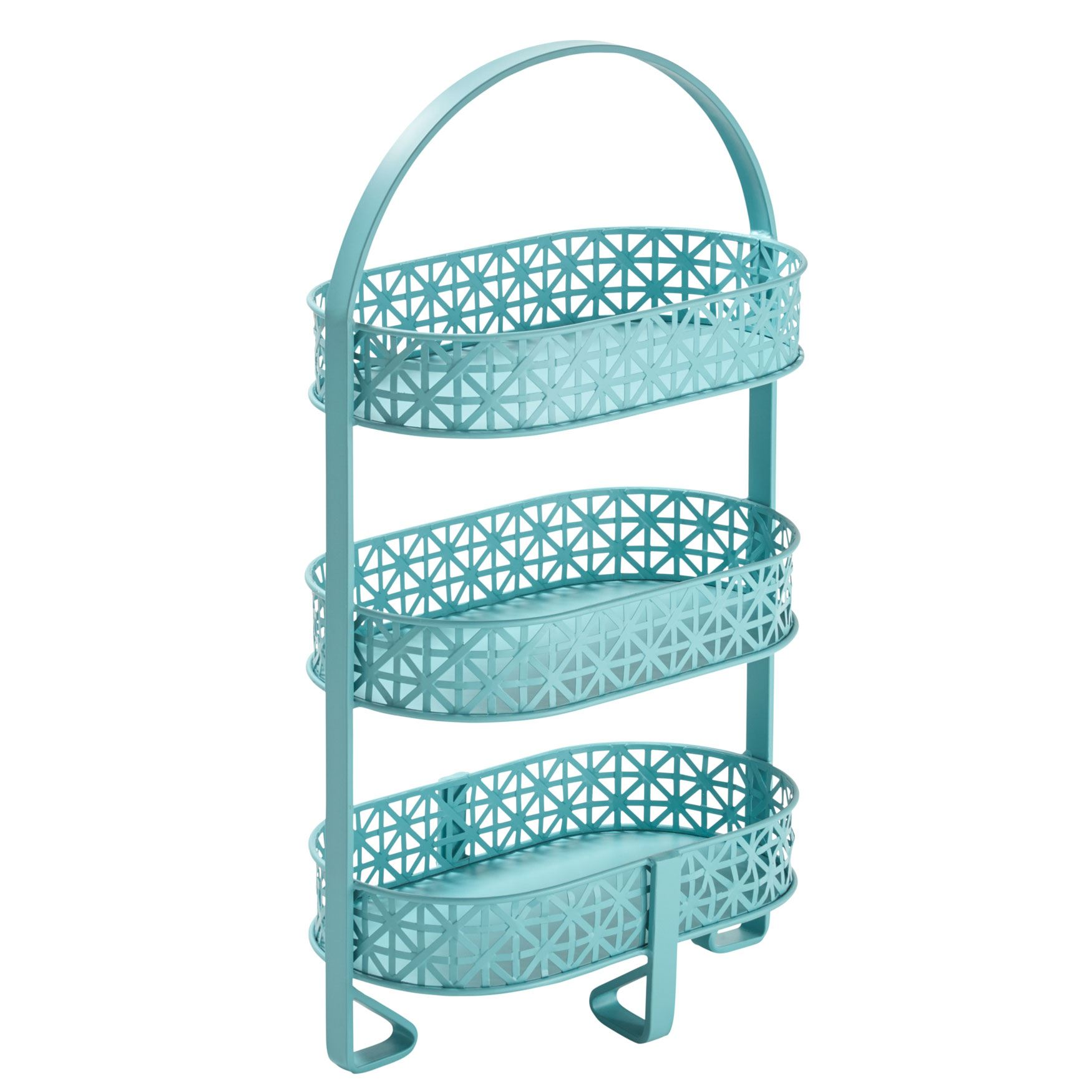 Isabel Three-Tier Cut-Out Storage,