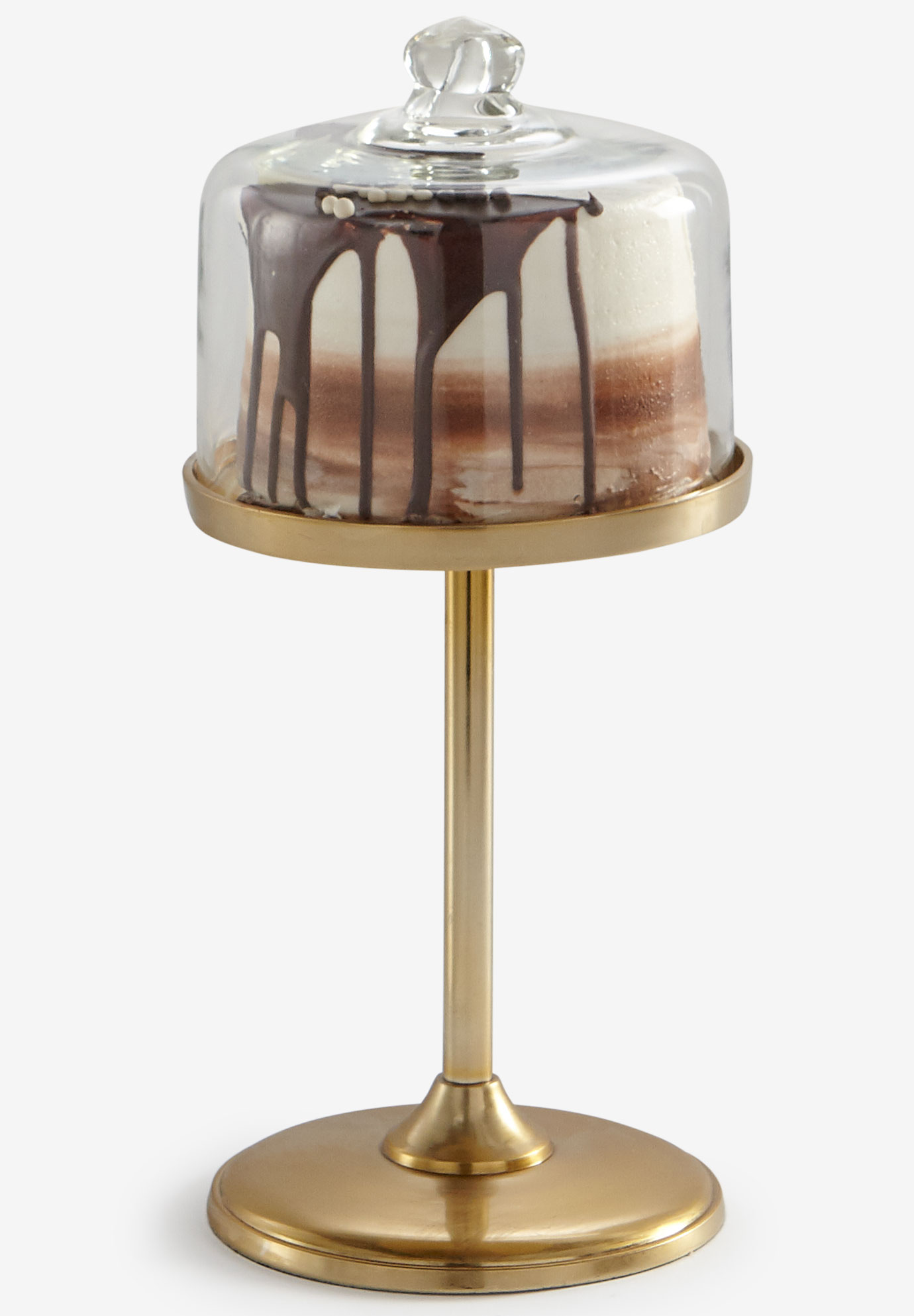 Large Gold Cake Stand , GOLD