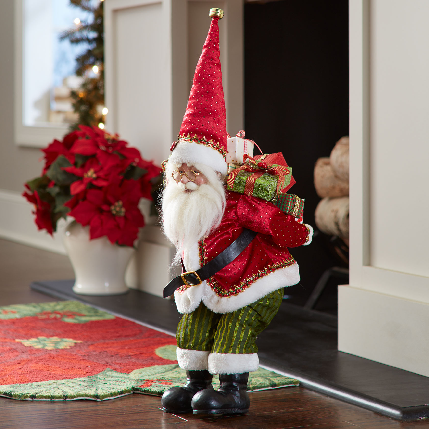Santa Carrying Gifts, MULTI