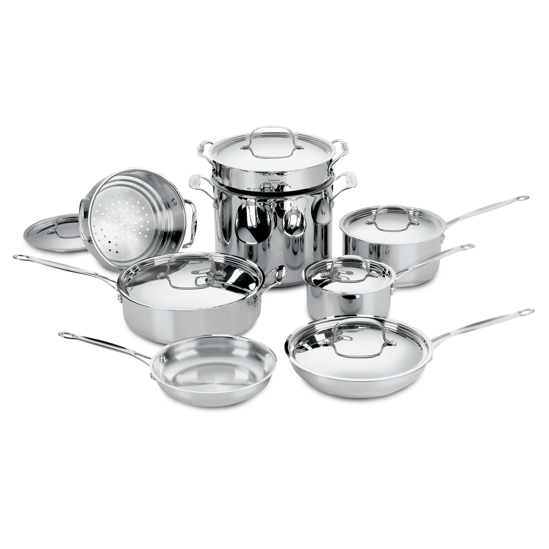 Cuisinart Chef's Classic Stainless 14-Pc. Set, STAINLESS