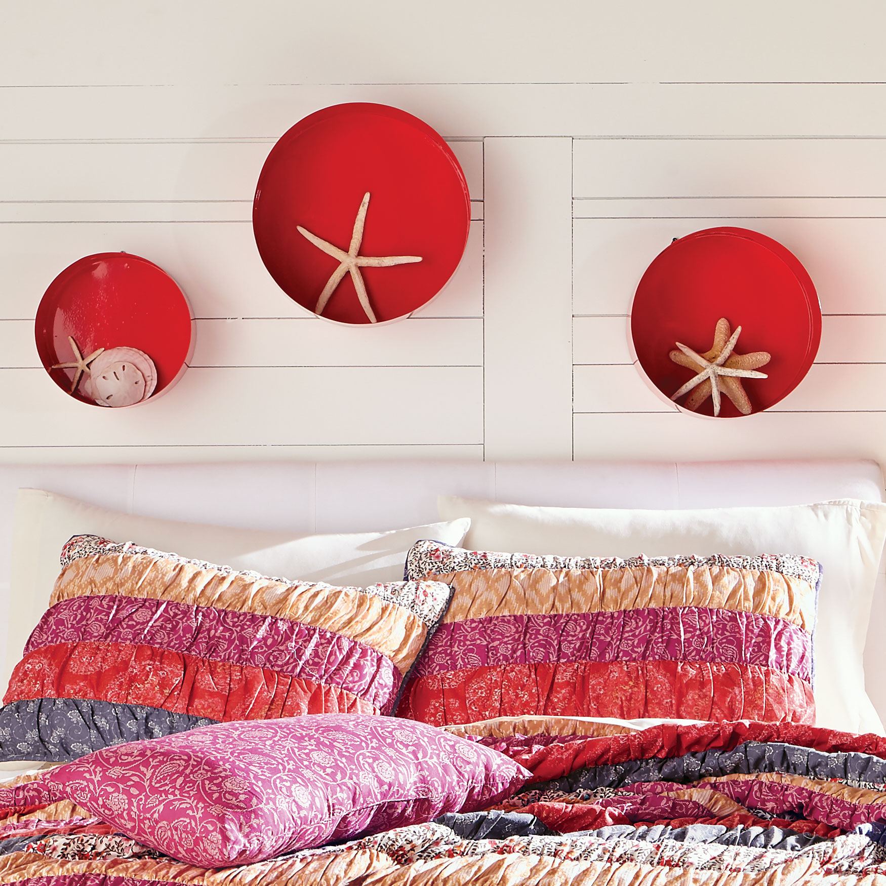 Rosie Round Wall Shelves ,