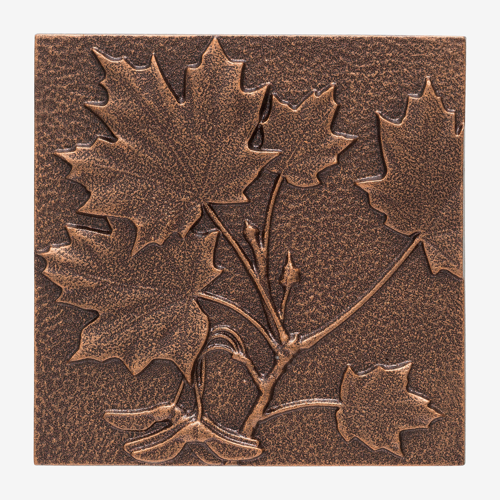 Maple Leaf Wall Decor, ANTIQUE COPPER