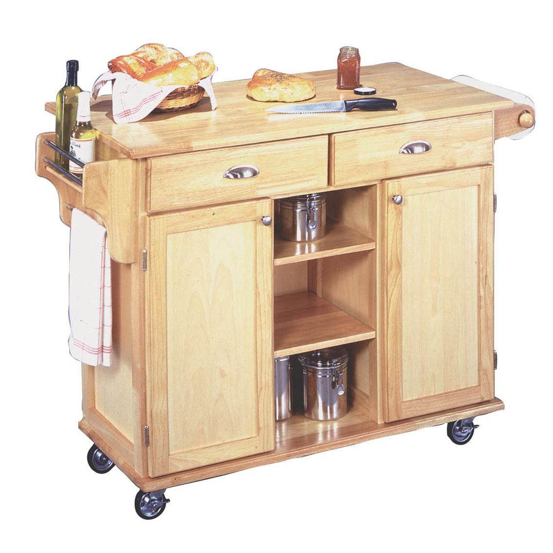 Napa Kitchen Cart Plus Size Kitchen Carts Islands Brylane Home