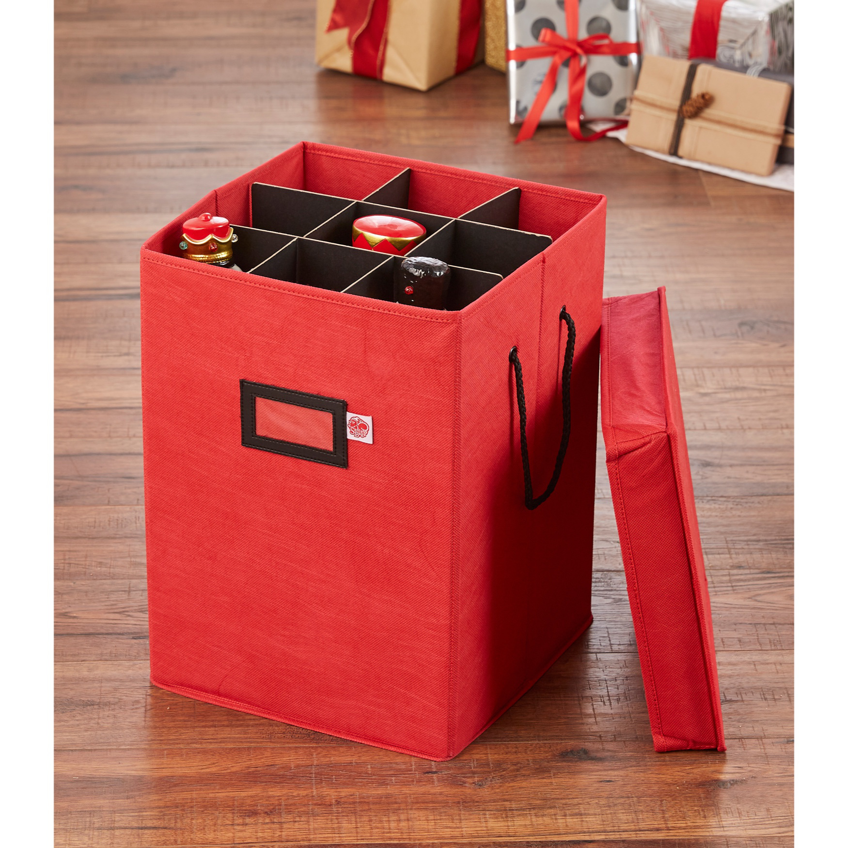 Collectibles Storage Box, RED