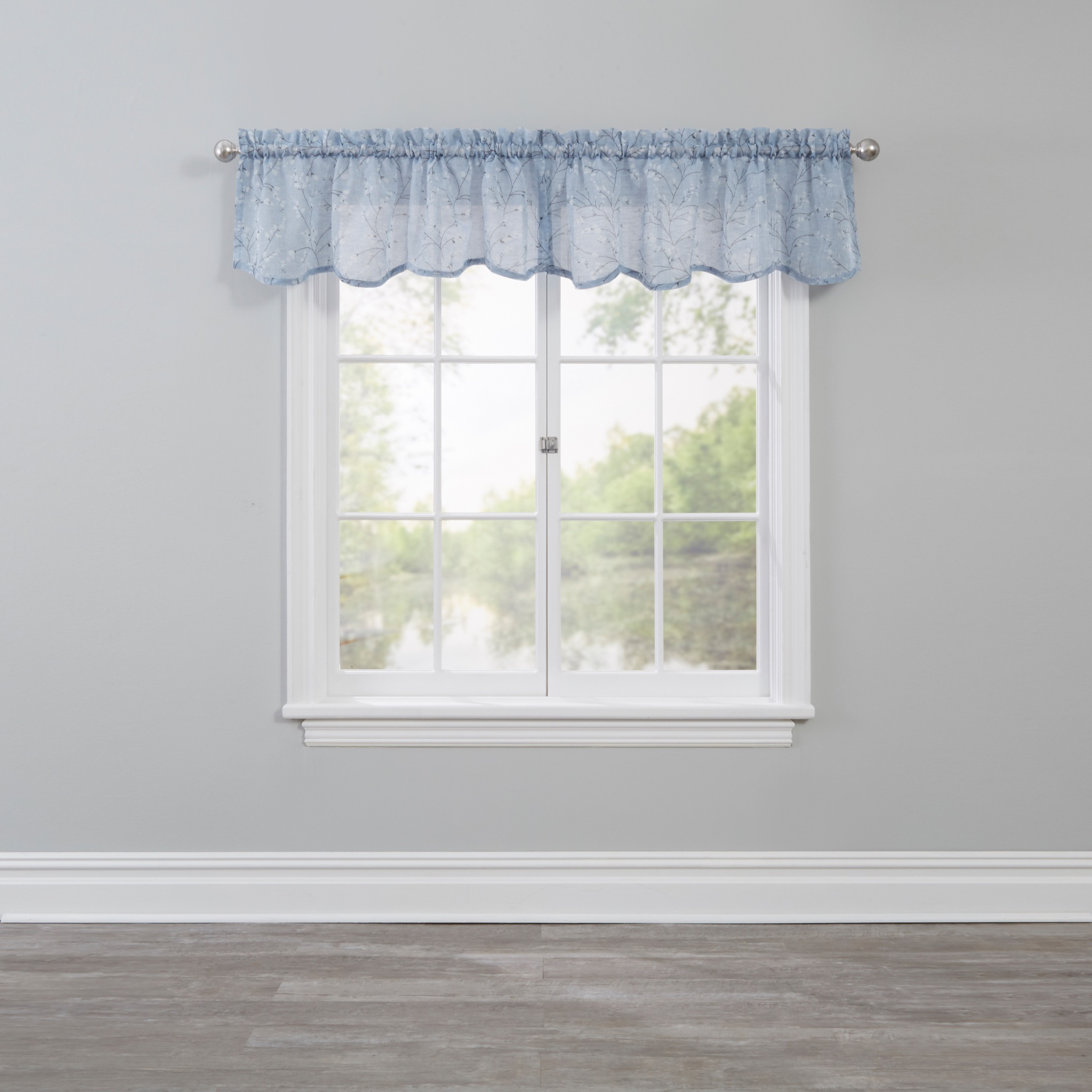 Willow Scalloped Valance,