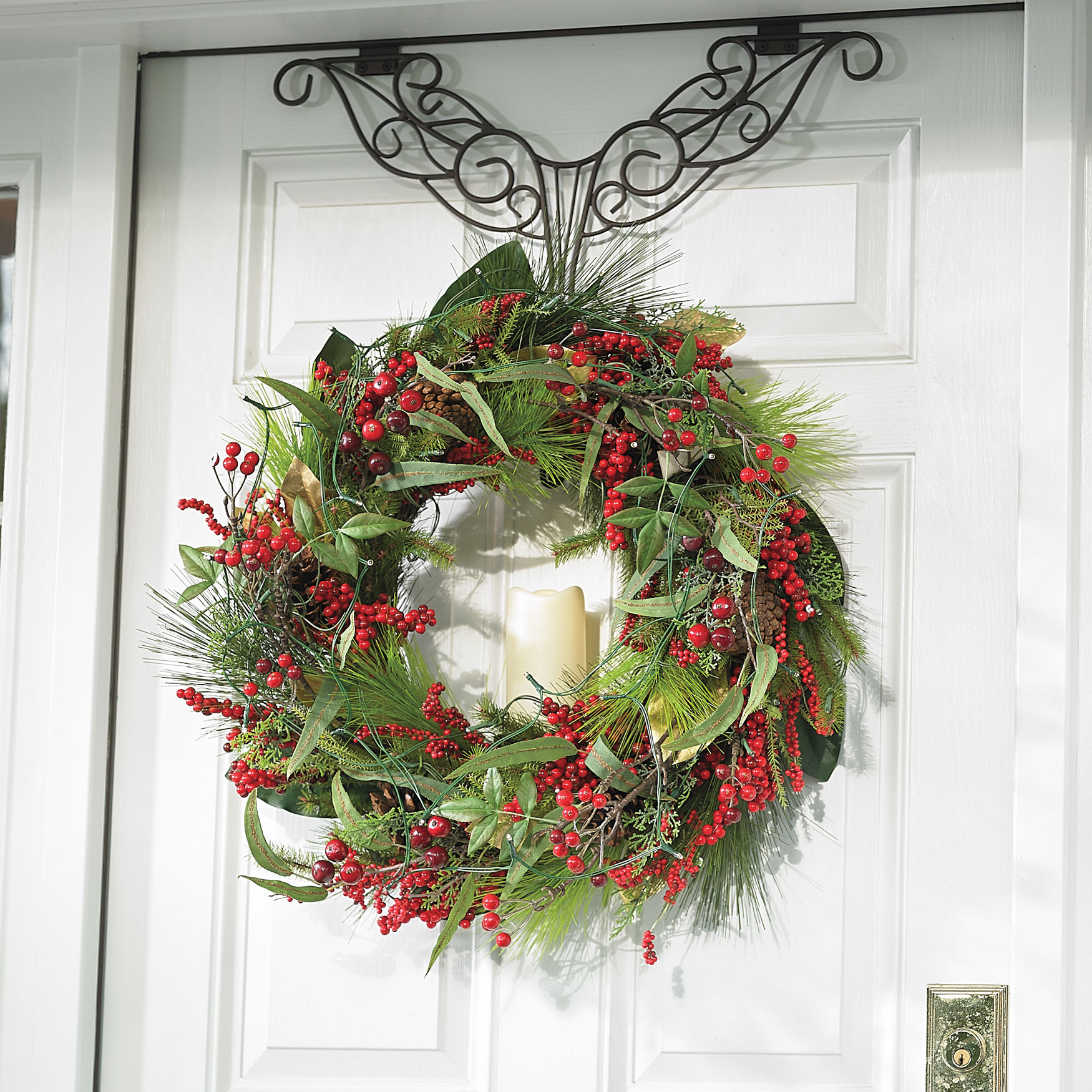 holiday christmas antler wreath - HD 1750×1750