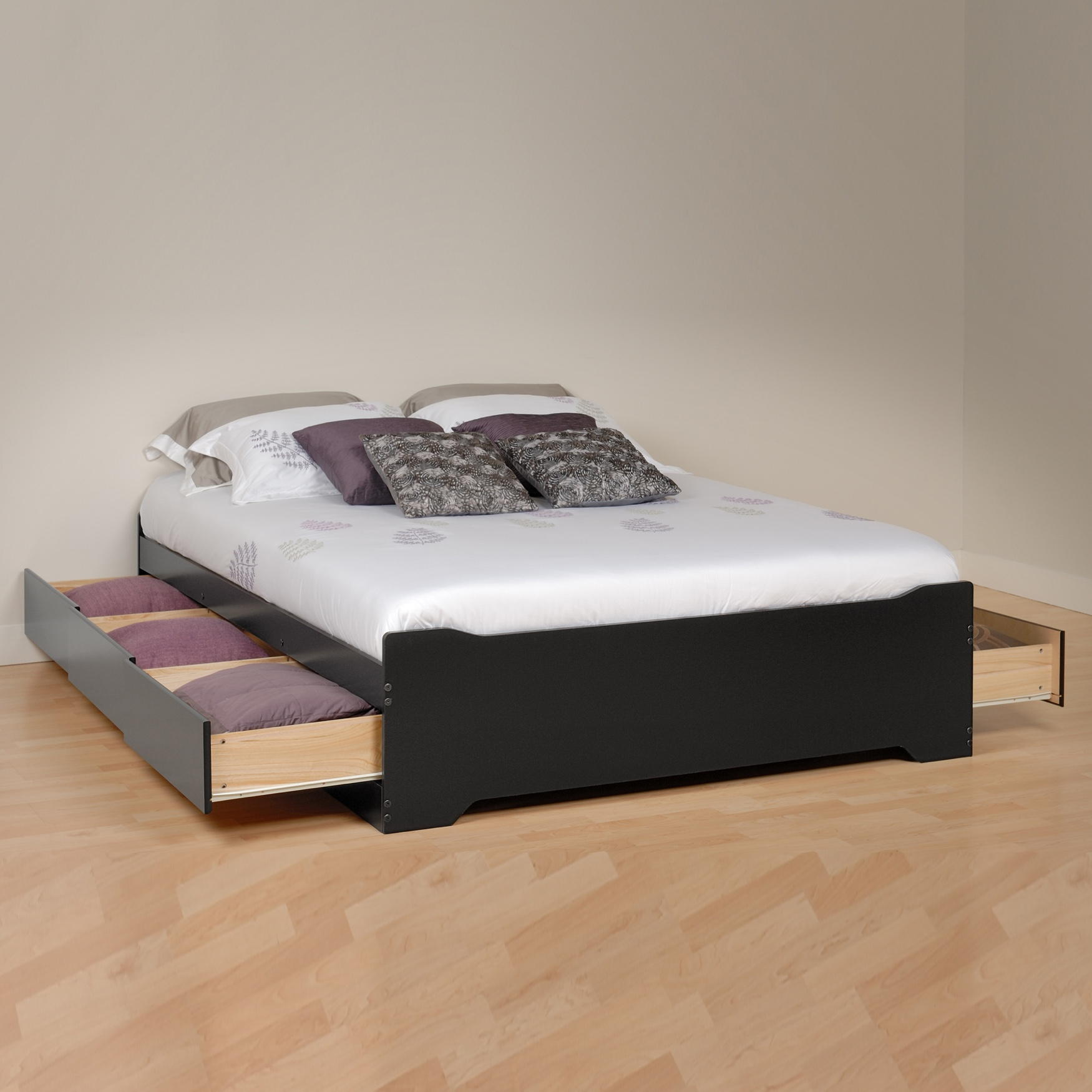 Coal Harbor Full Mate's Platform Storage Bed with 6 Drawers,