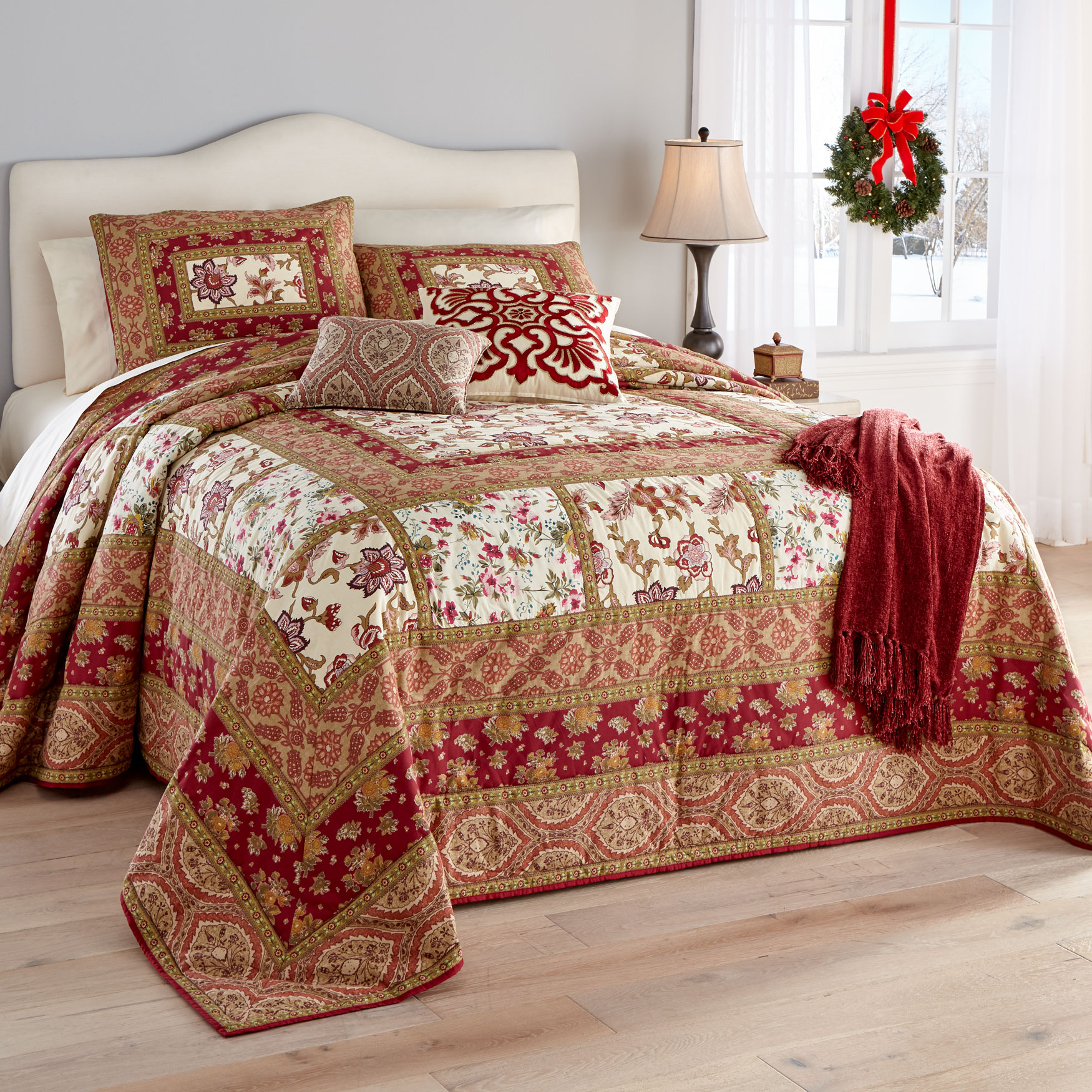 Josephine Patchwork Bedspread Collection,
