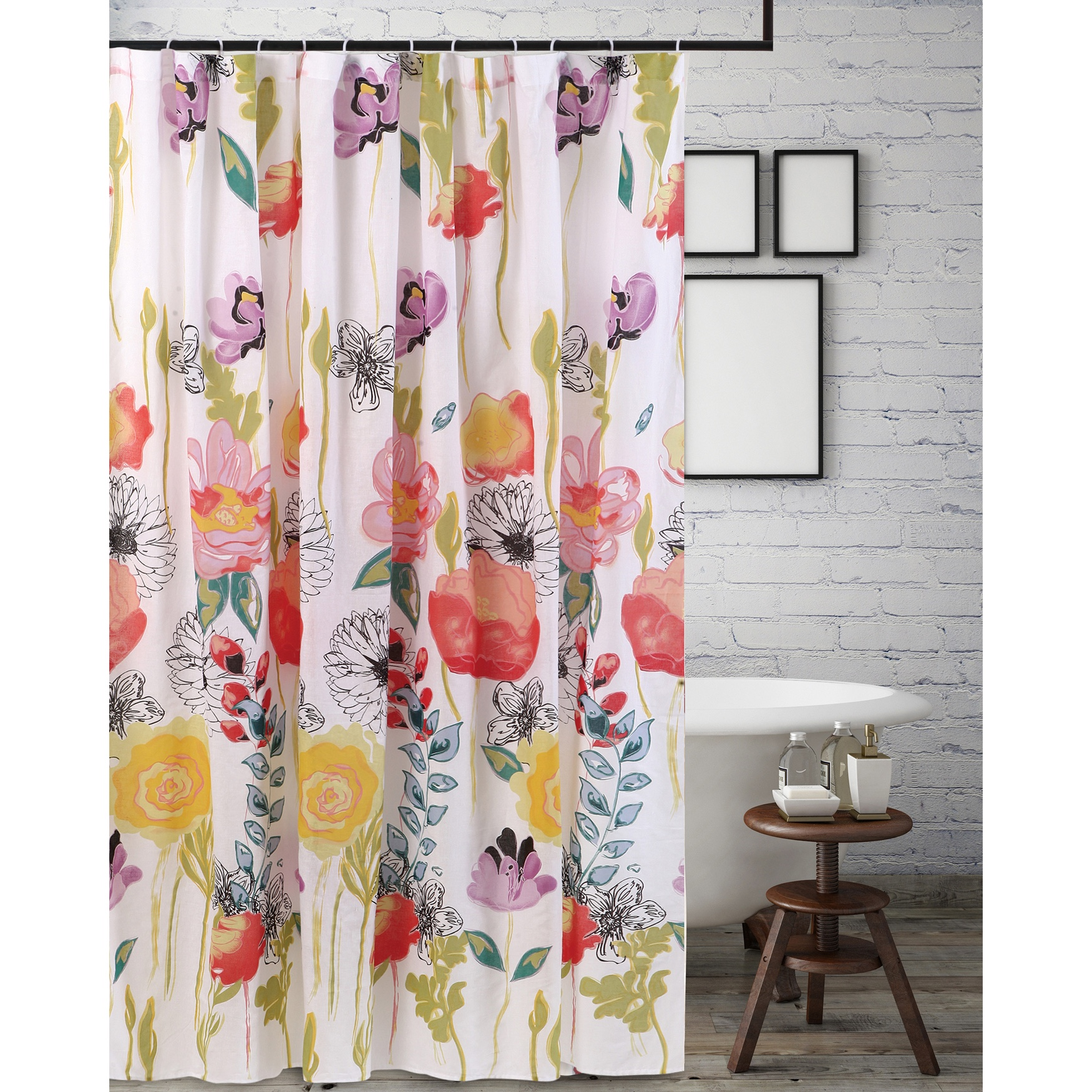 Watercolor Dream Shower Curtain by Greenland Home Fashions,