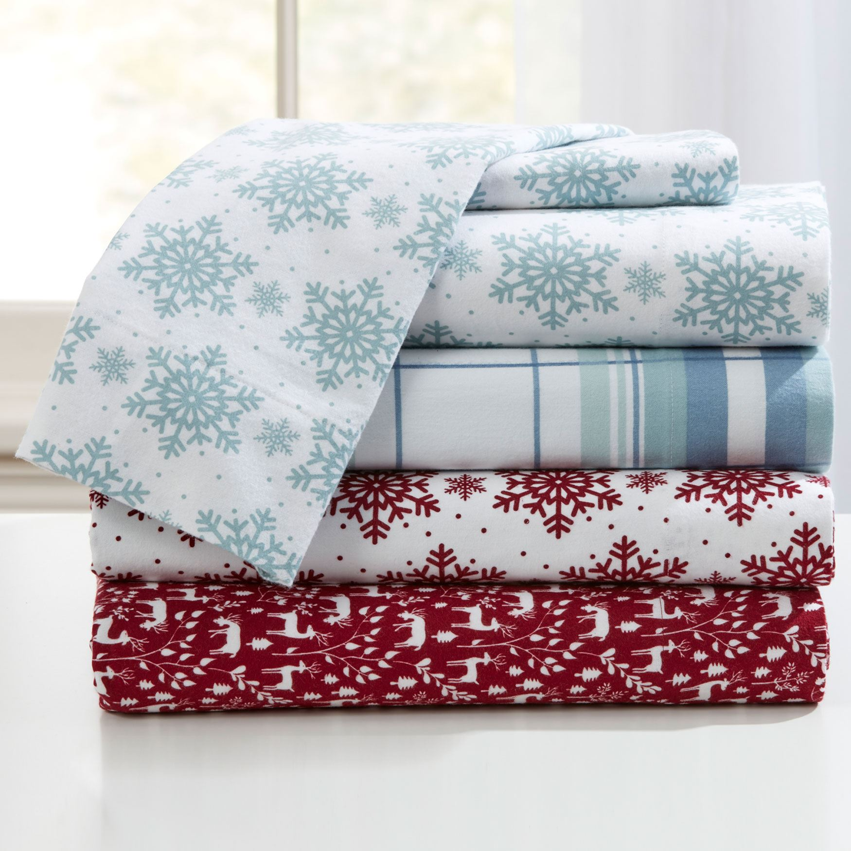 Cotton Flannel Sheet Collection,