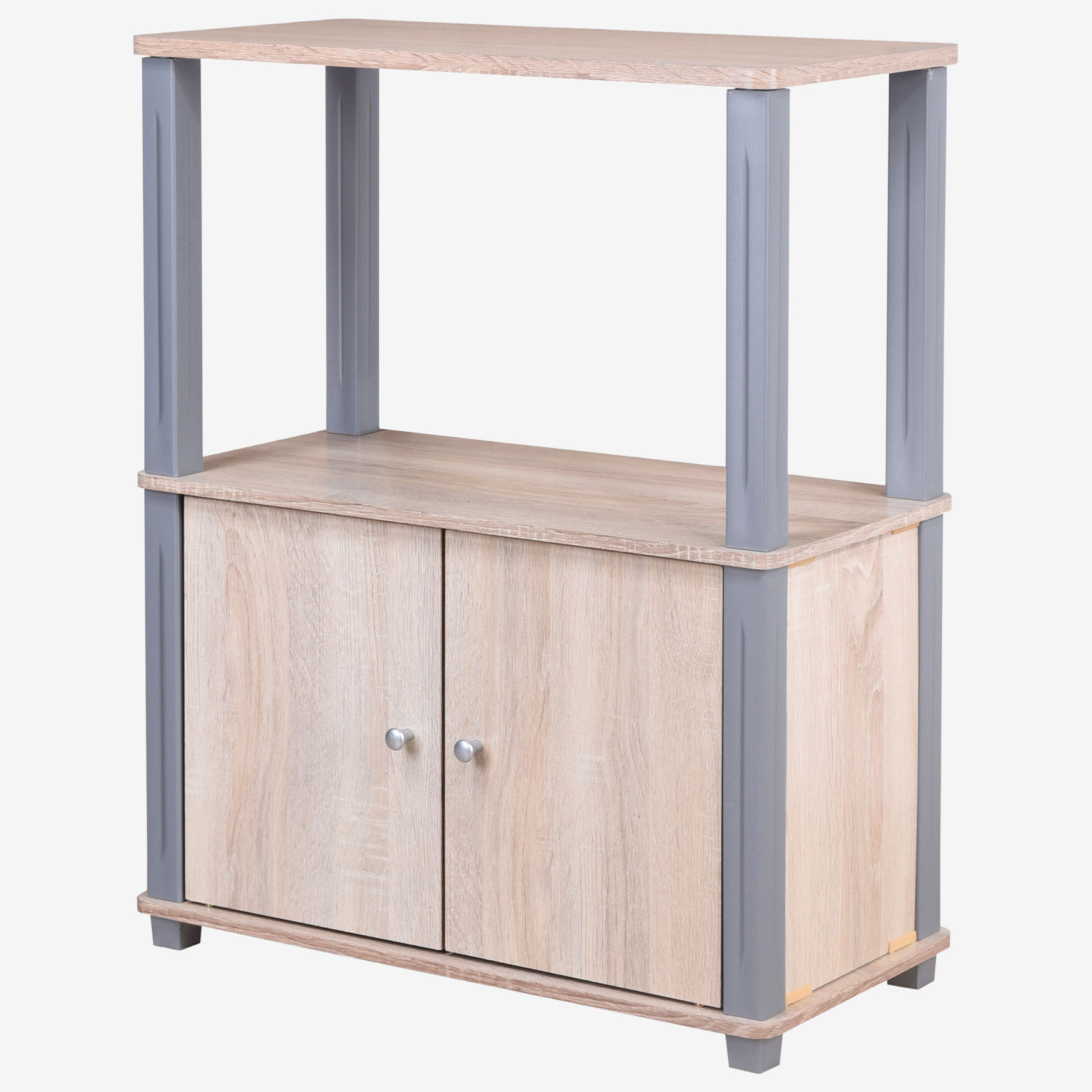 College Collection Stand with 2 Doors, MAPLE