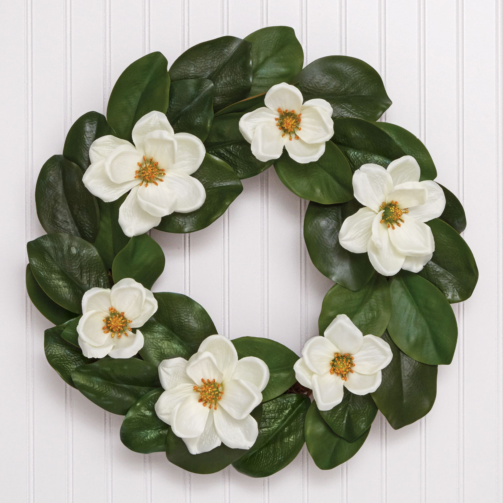 Magnolia Wreath, GREEN