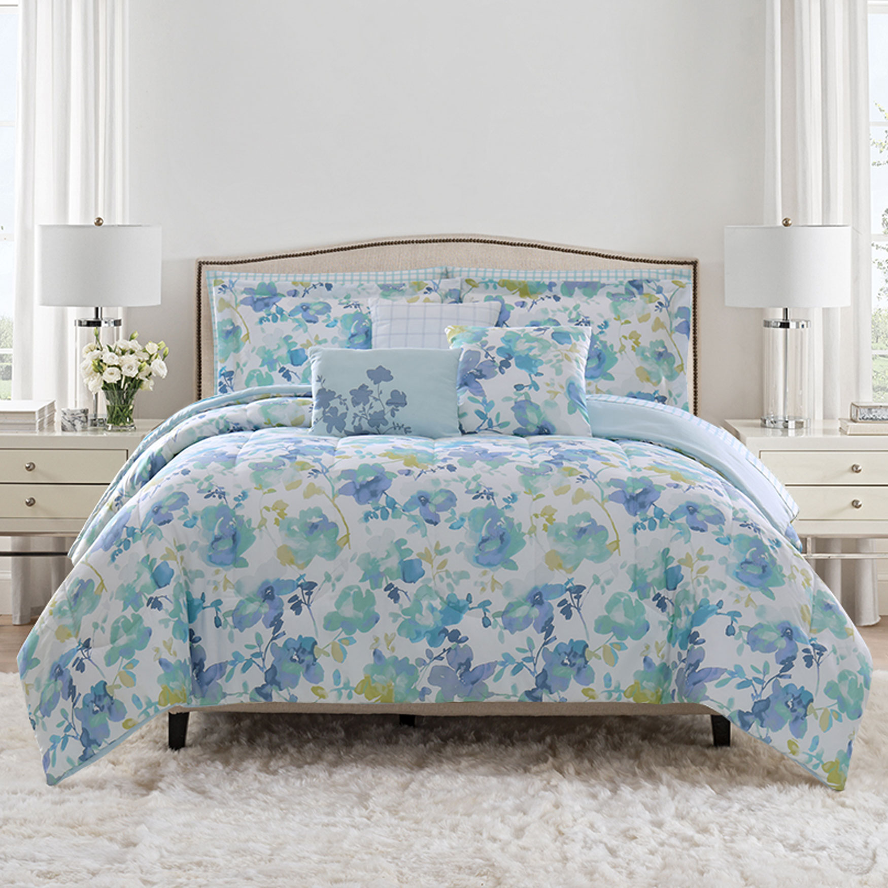 Kaley 10-Pc. Bed In A Bag Set,