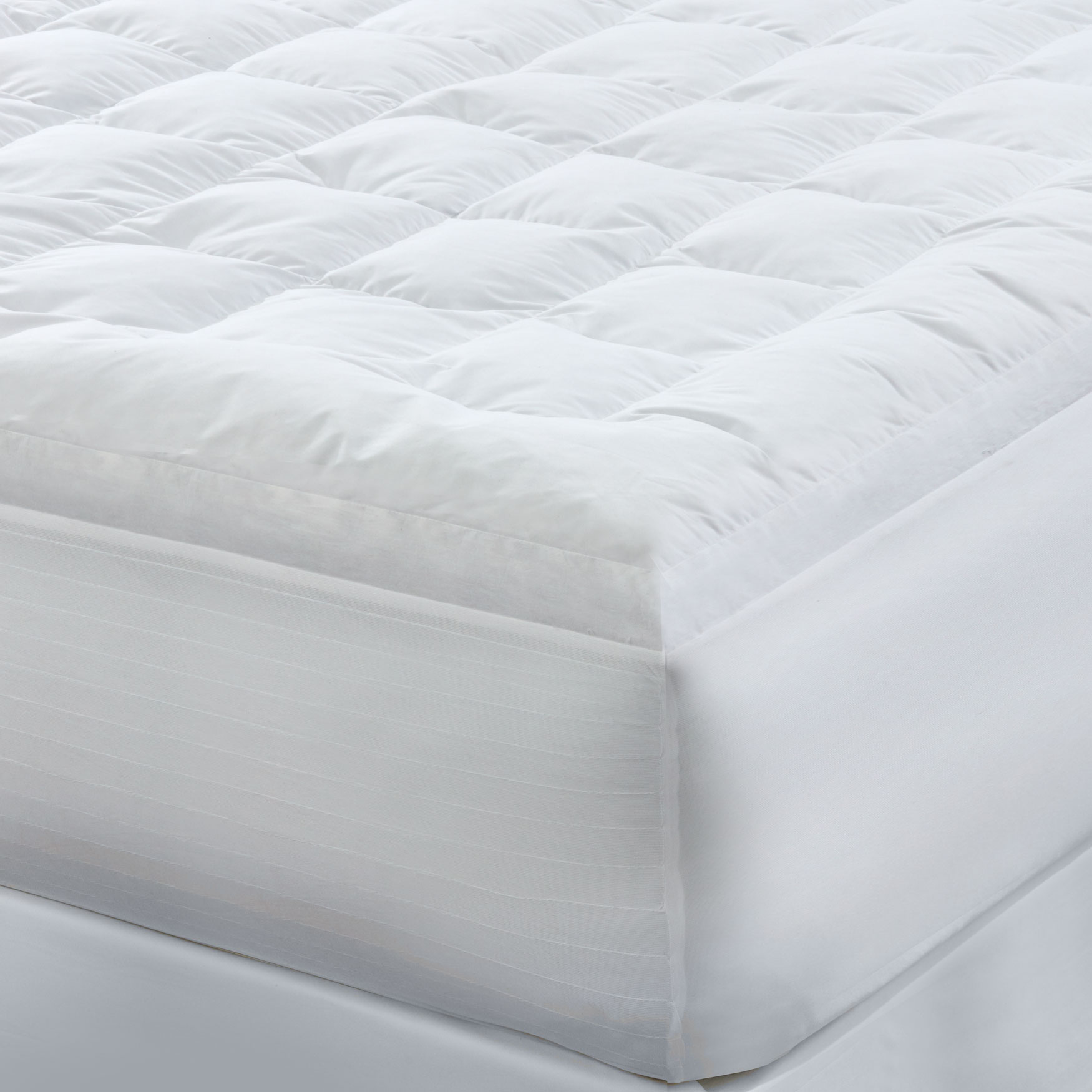 Bed Tite™ Feather Fill Mattress Pad,