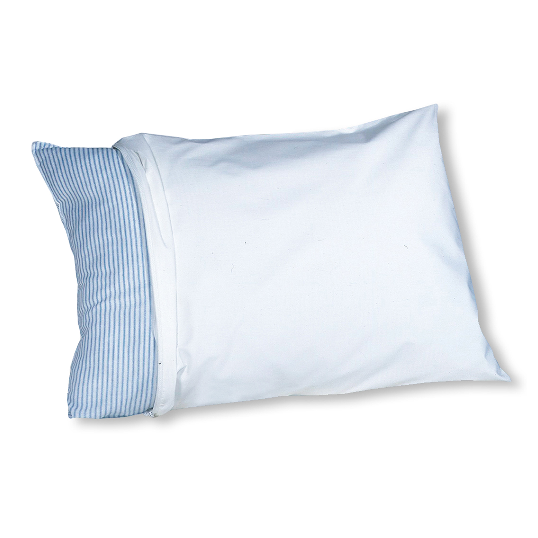 6-Pack Anti Microbial Polyester/Cotton Blend Pillow Protector,