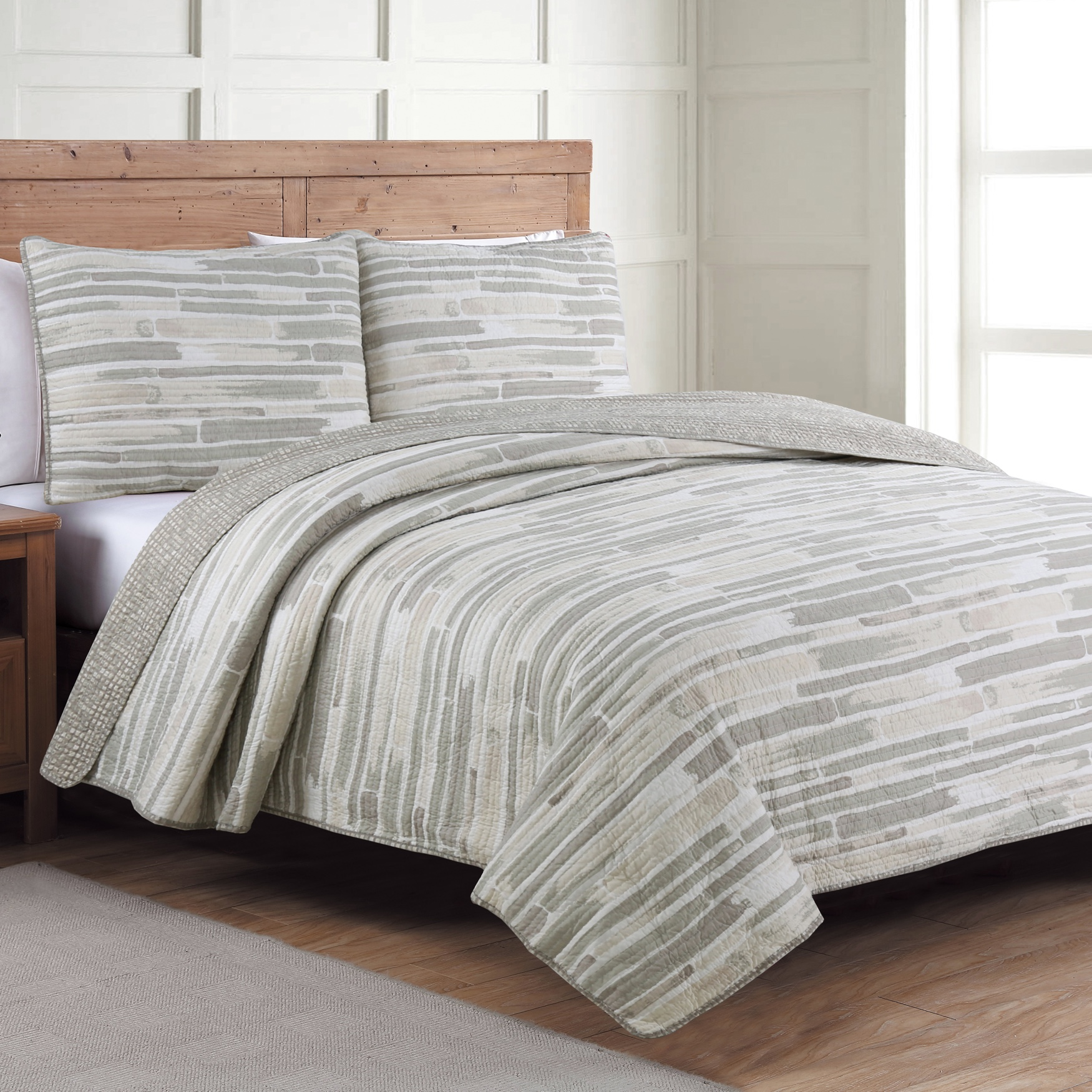 Algarve Quilt Set,