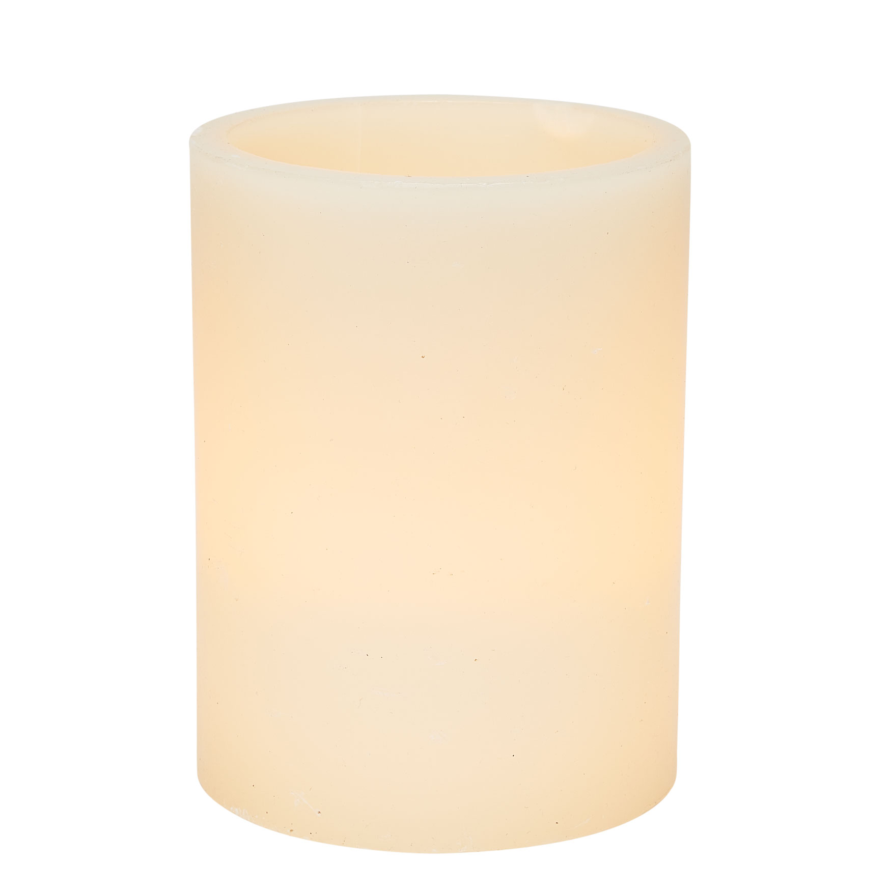 6'Diam. x 8'H Battery Operated LED Candle , IVORY