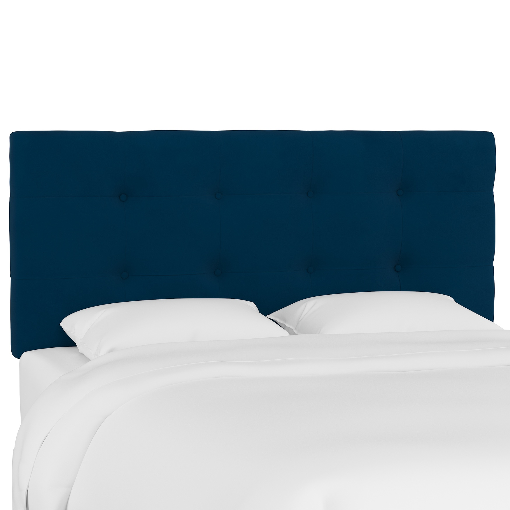Microsuede Tufted Headboard,