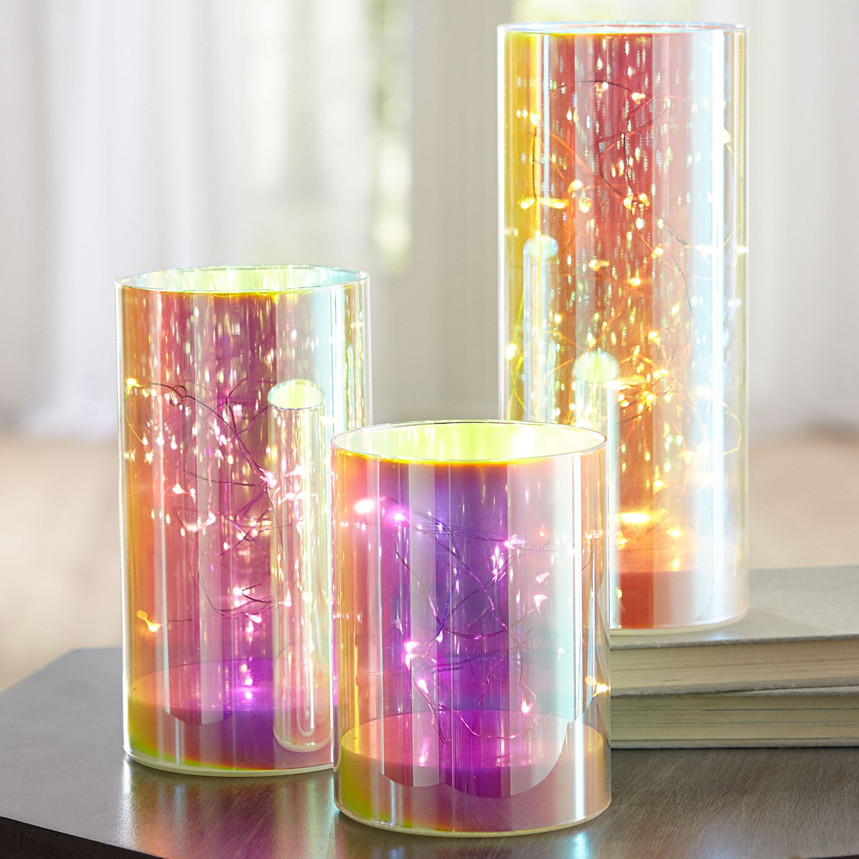 Iridescent Hurricanes, Set of 3,