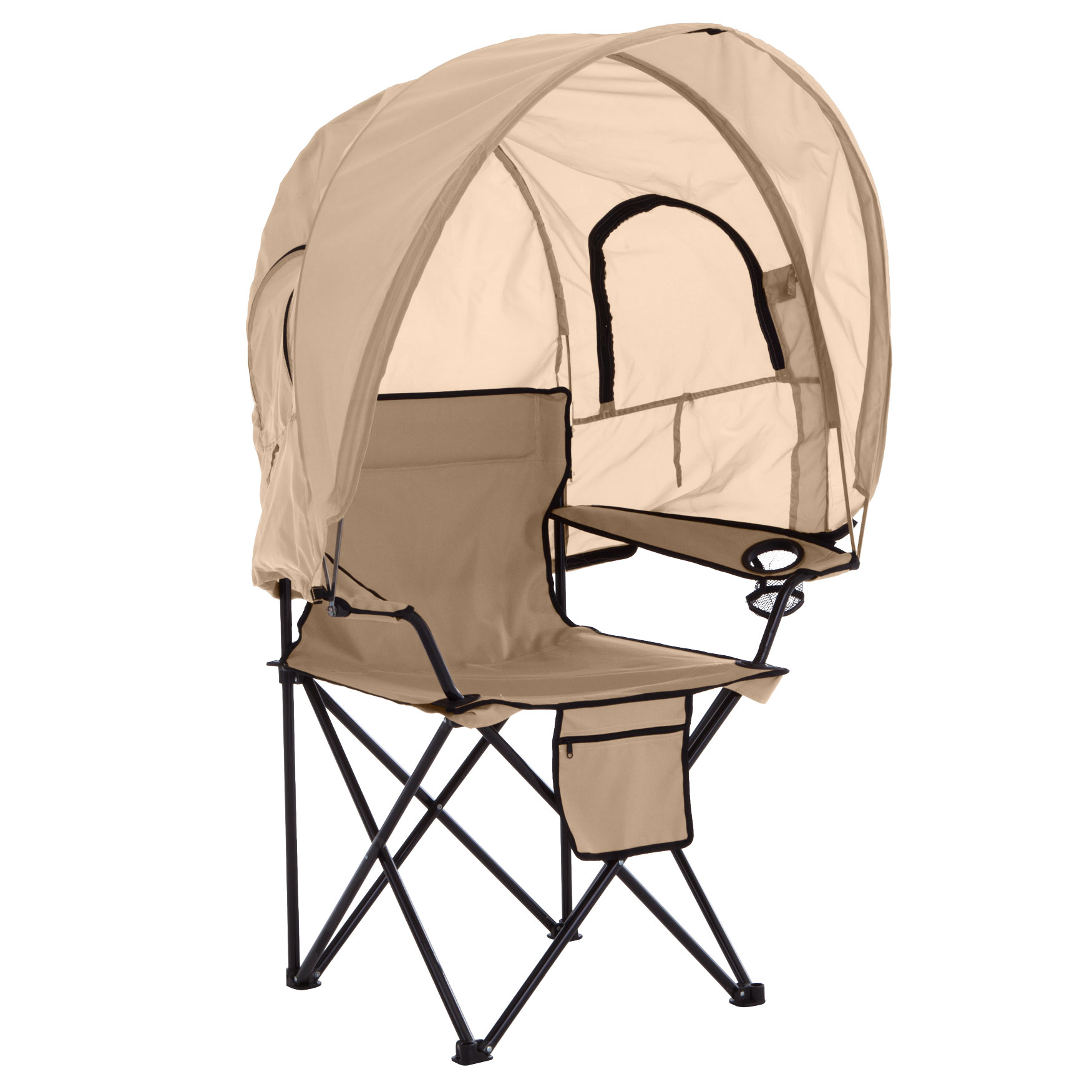 Camp Chair with Canopy,