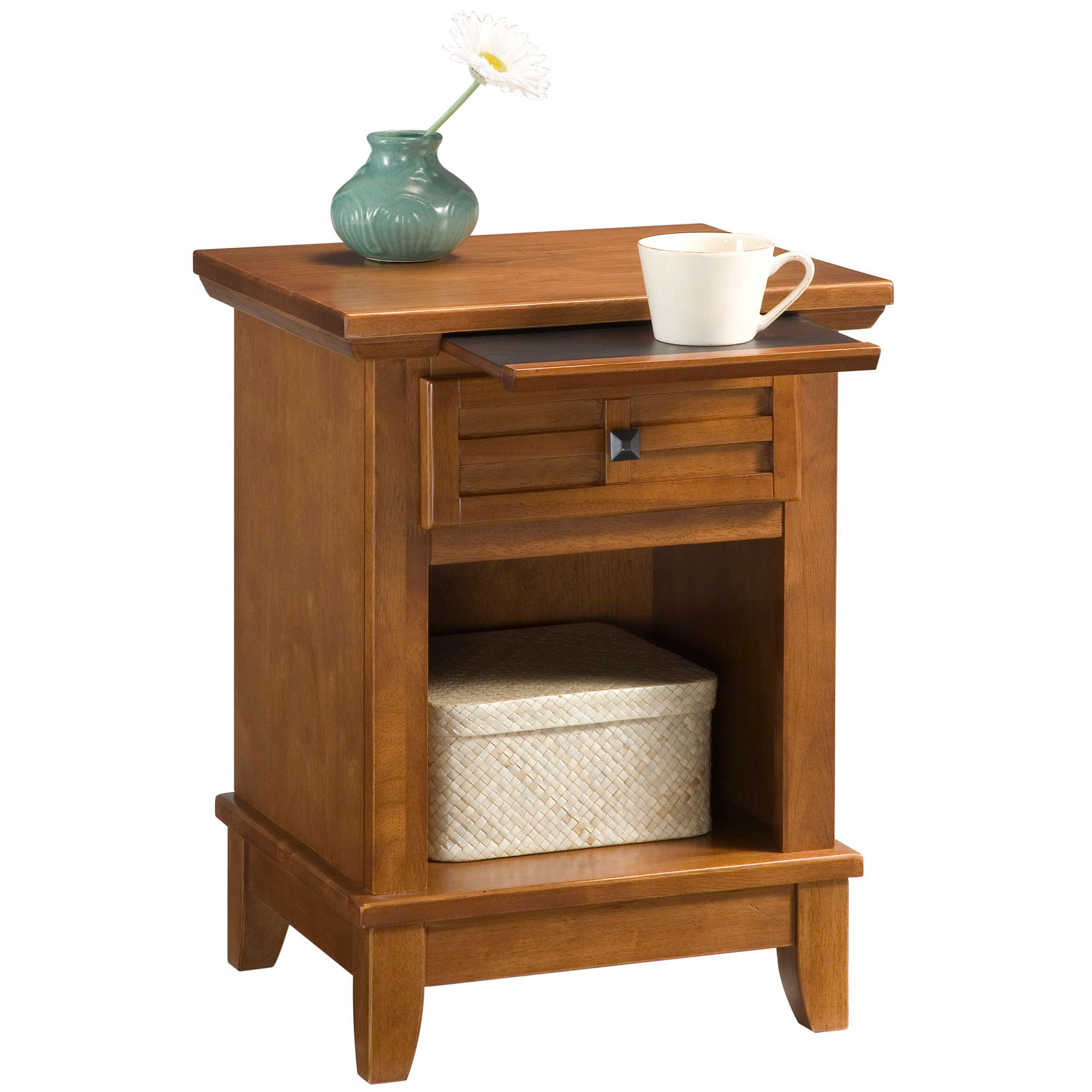 Arts & Crafts Night Stand, COTTAGE OAK
