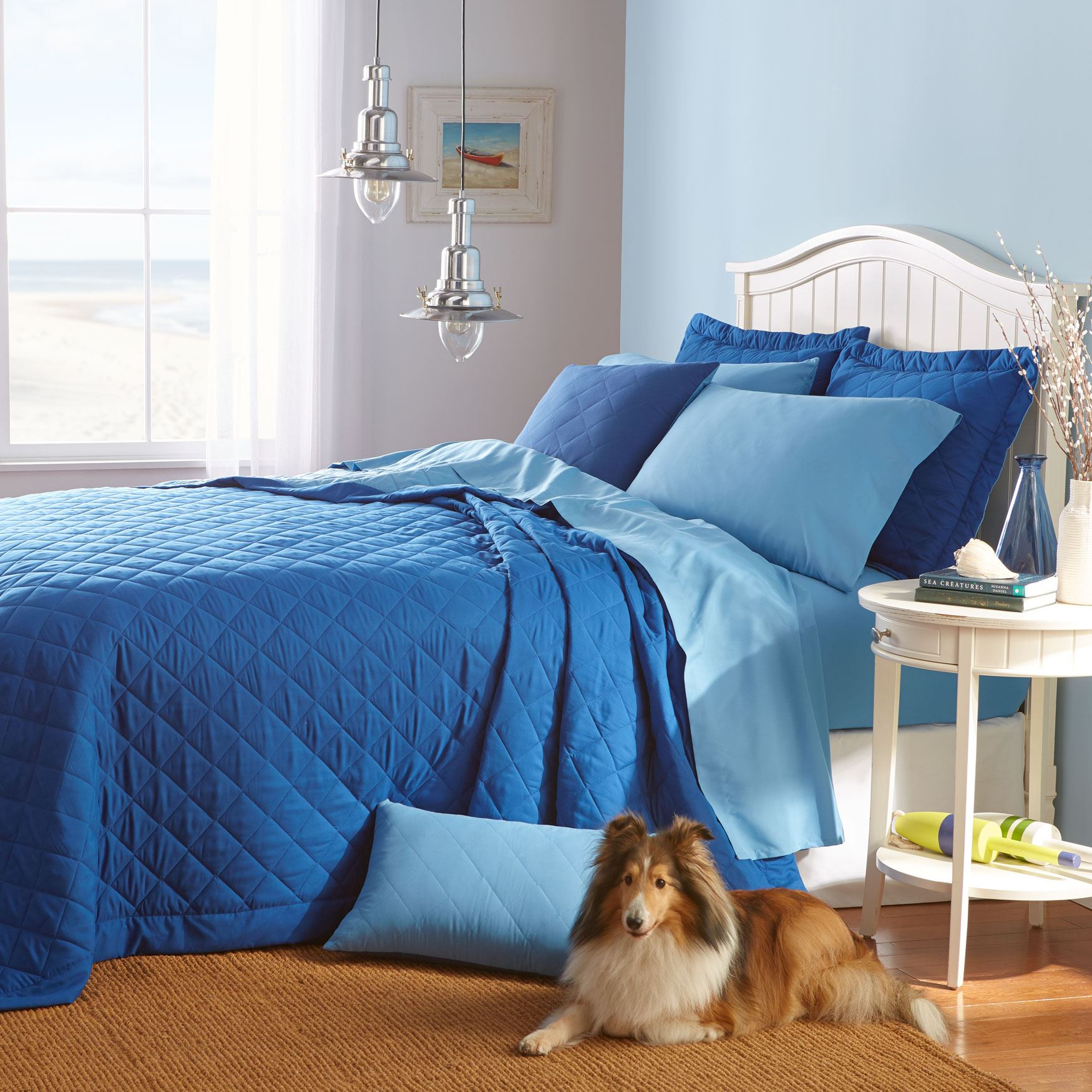 BH Studio  Reversible Quilted Bedspread Collection,