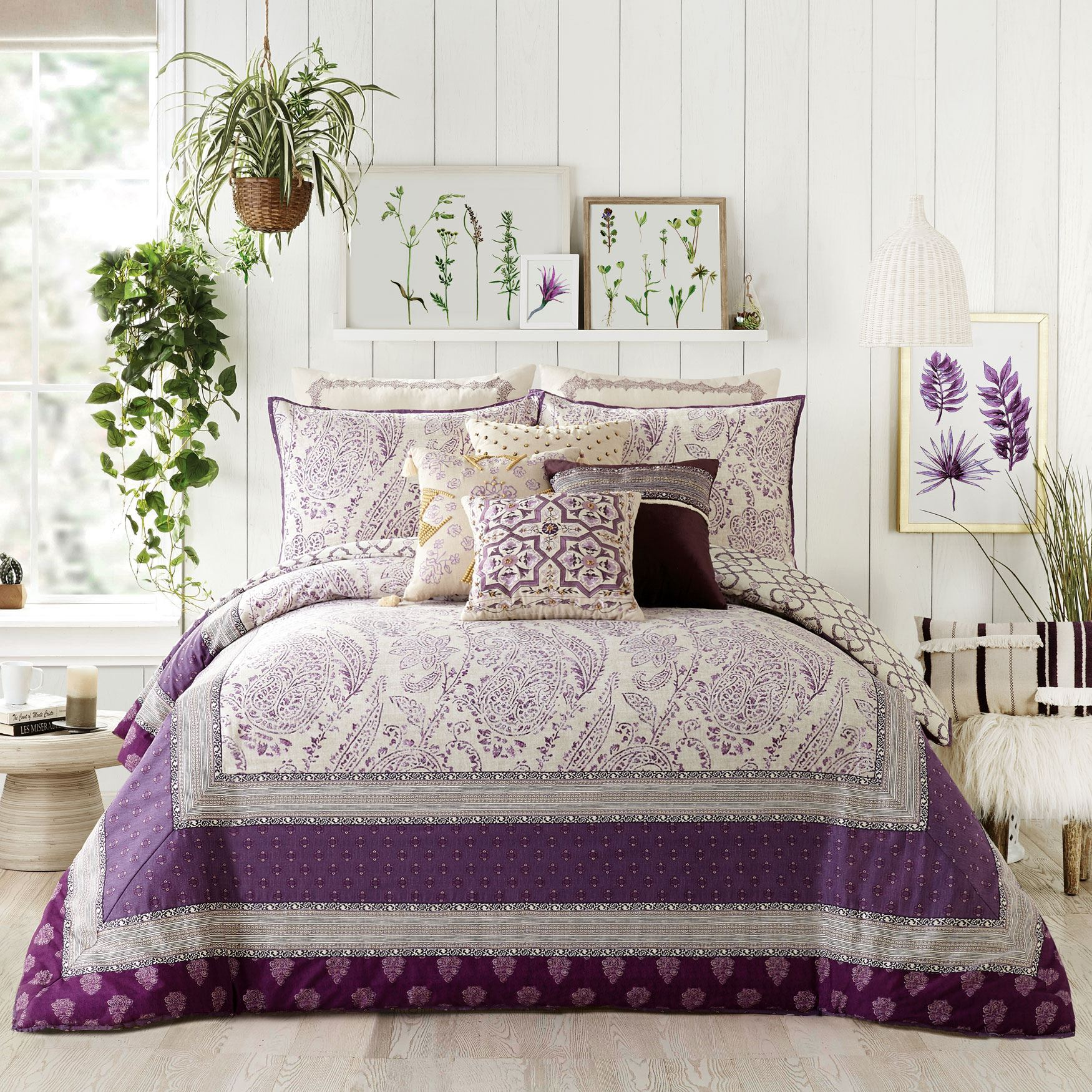 Jessica Simpson Jacky 3-Pc. Comforter Collection,