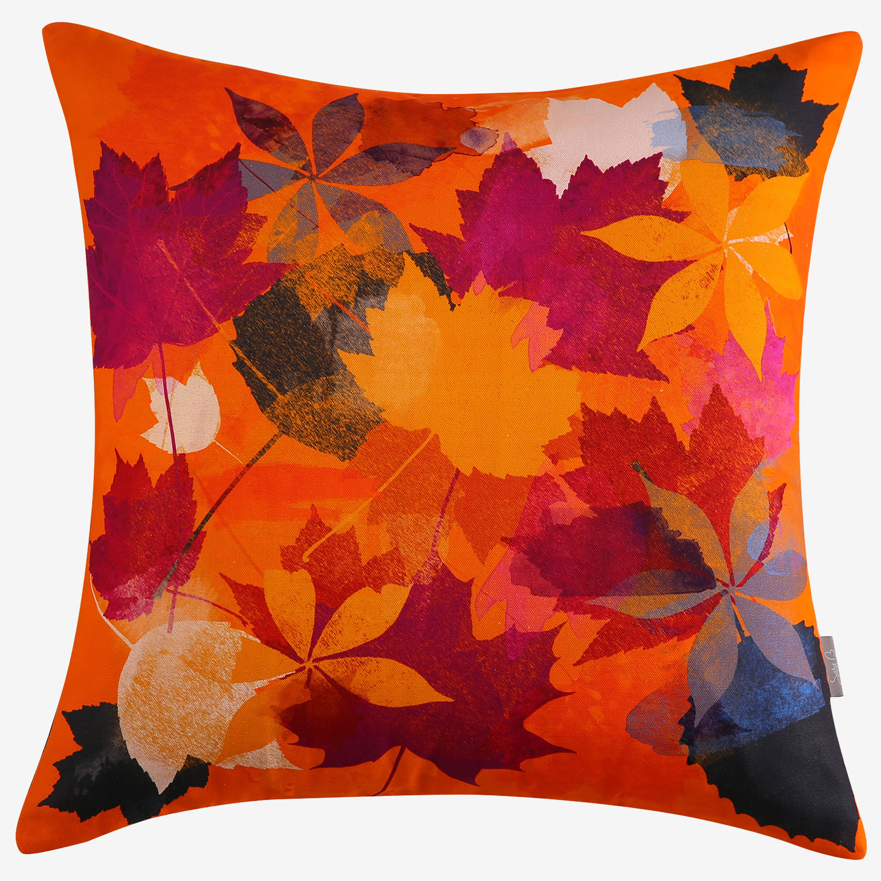 Autumn Leaves Decorative Pillow, MULTI