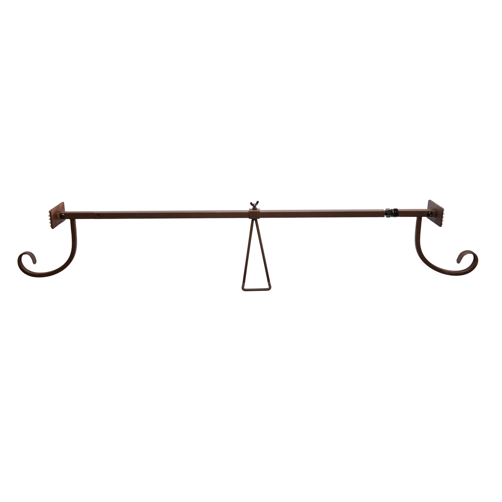 Garland Door Hanger, BROWN