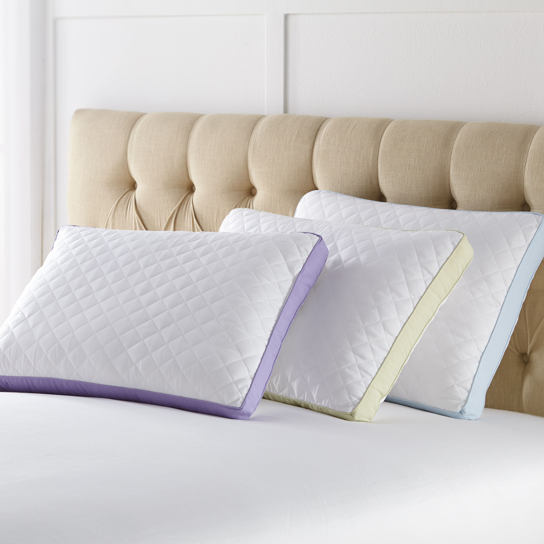 Back Sleeper Gusseted Density 2-Pack Pillows,