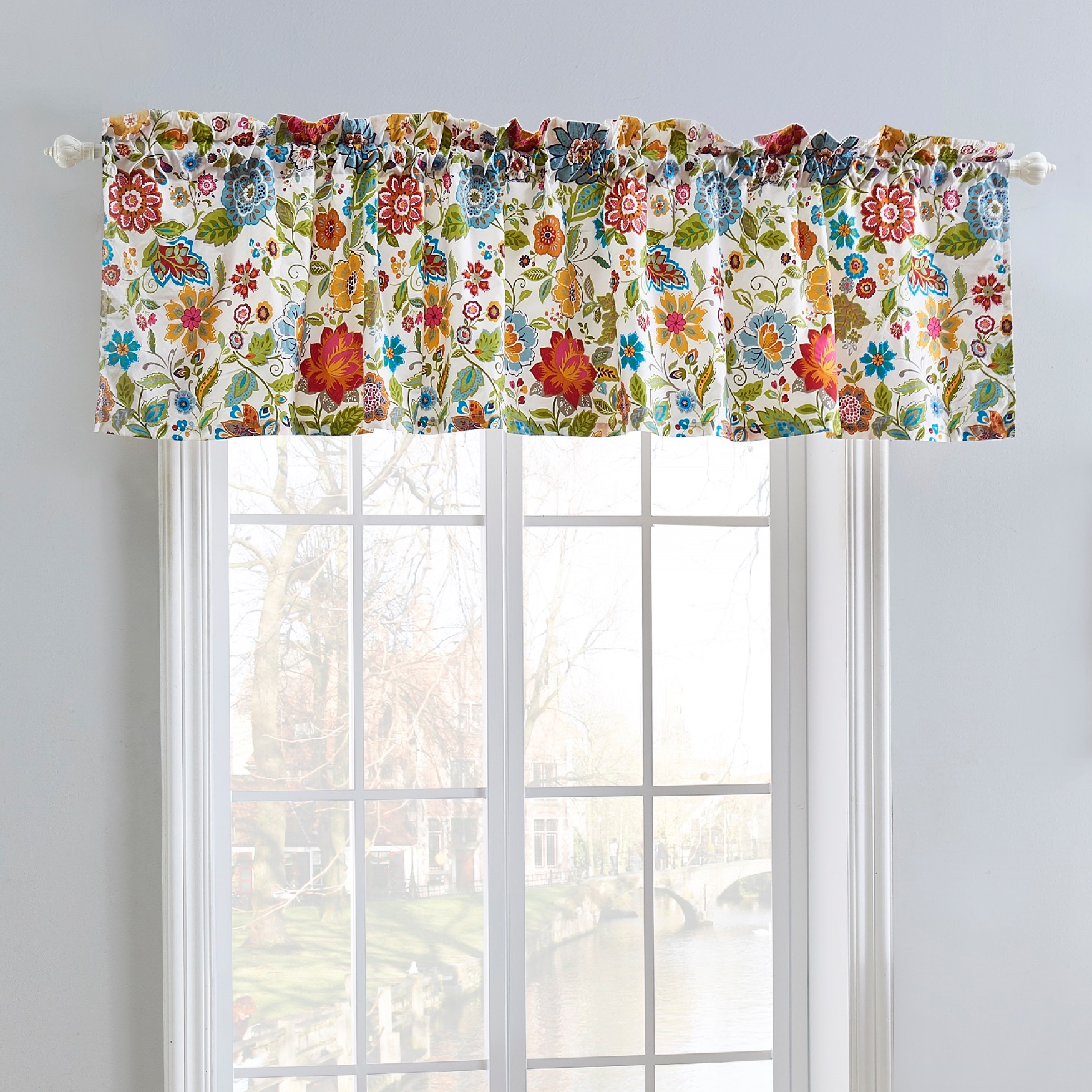 Astoria Spice Window Valance by Greenland Home Fashions,
