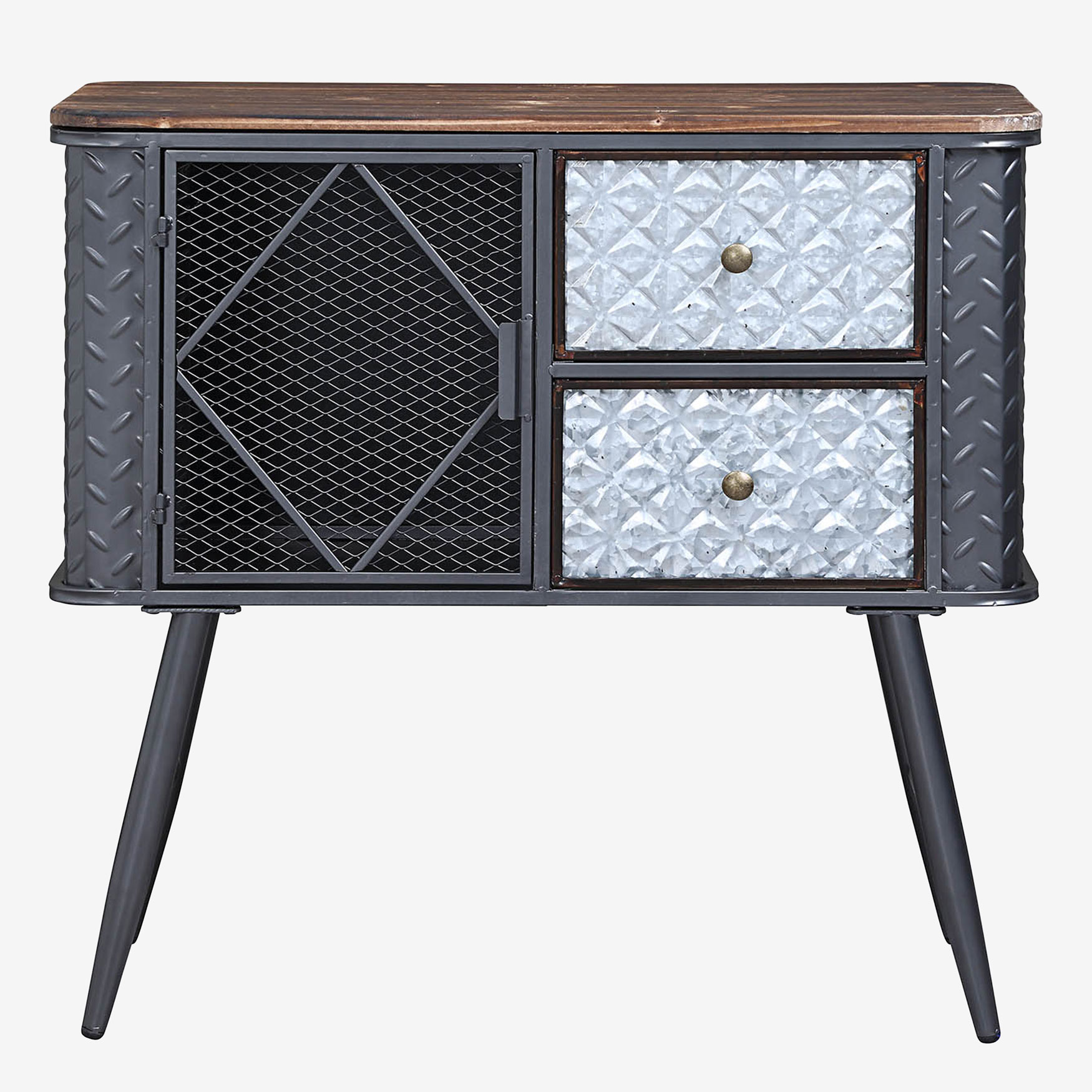 Forester Collection 2 Drawer Credenza, MULTI