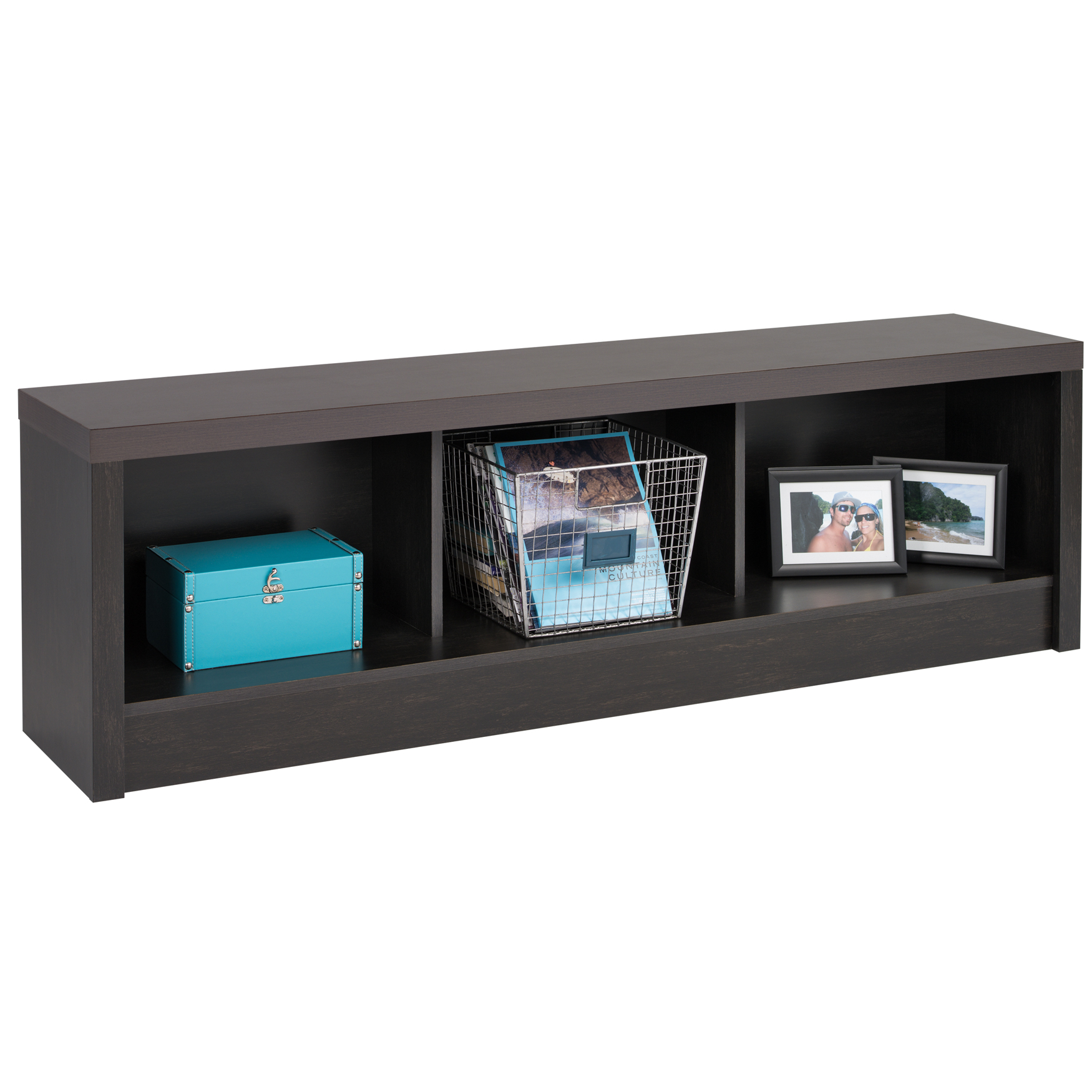 District Storage Bench , BLACK