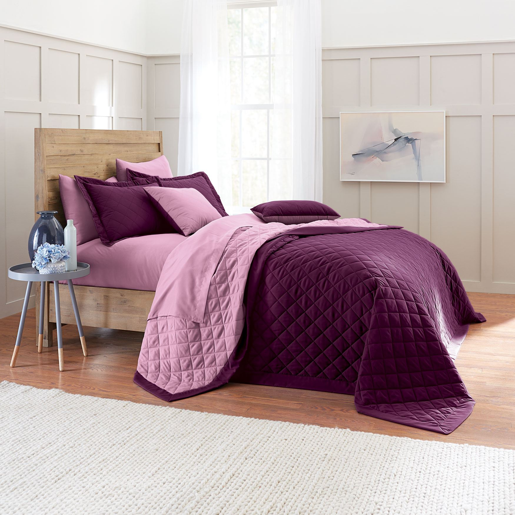 BH Studio® Reversible Quilted Bedspread,