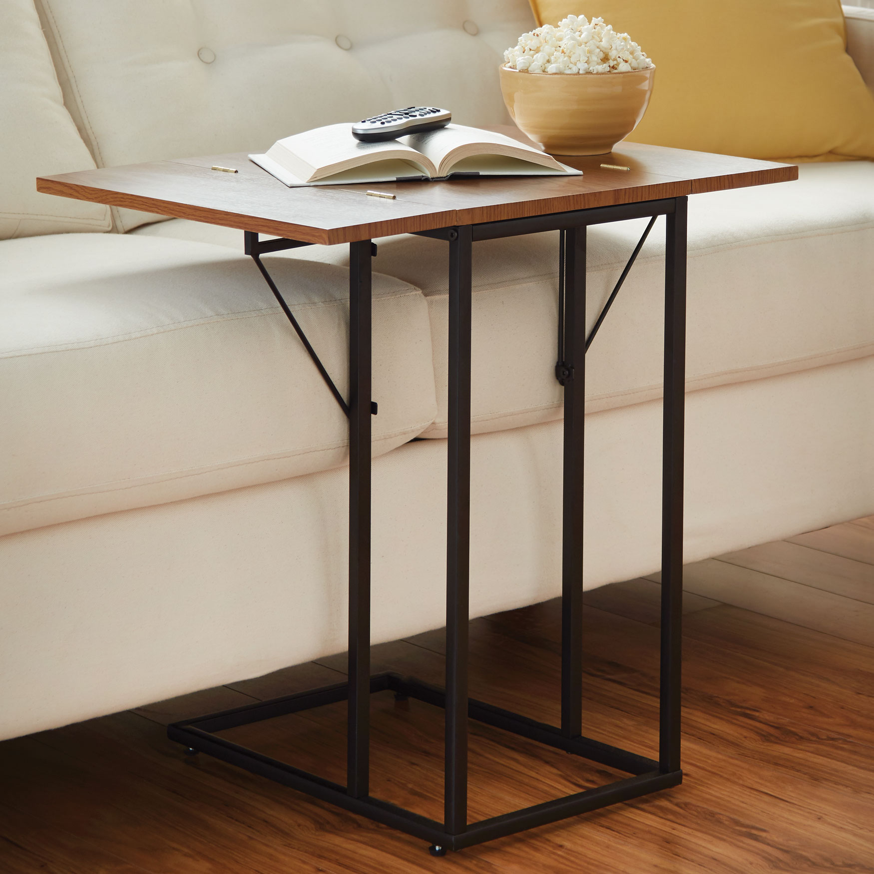 Folding Sofa Table  Coffee, End & Side Tables   Brylane Home