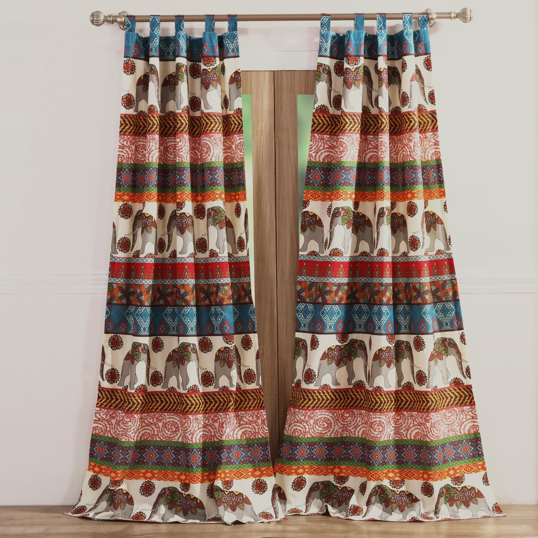 Kandula Desert Curtain Panel Pair by Barefoot Bungalow, DESERT