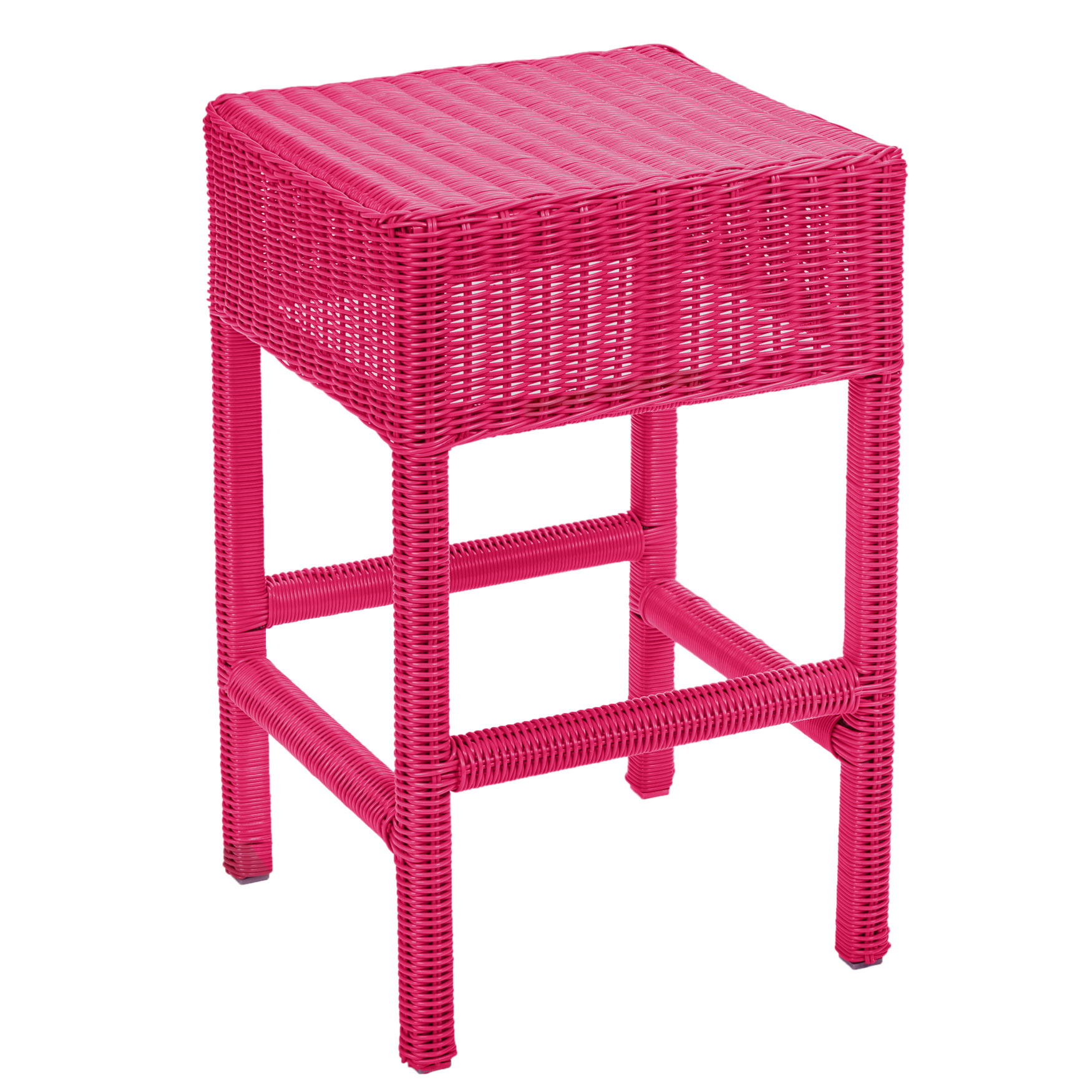 "Roma 24"" Counter Stool, PINK"