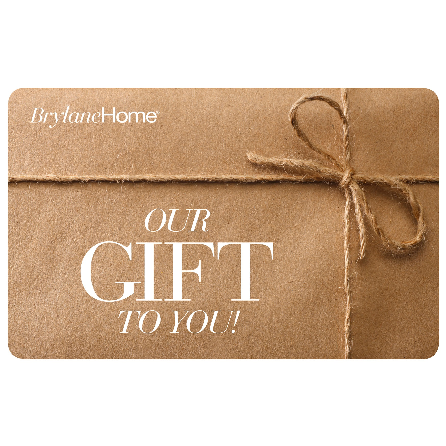 Any Occasion<br>Gift Card,