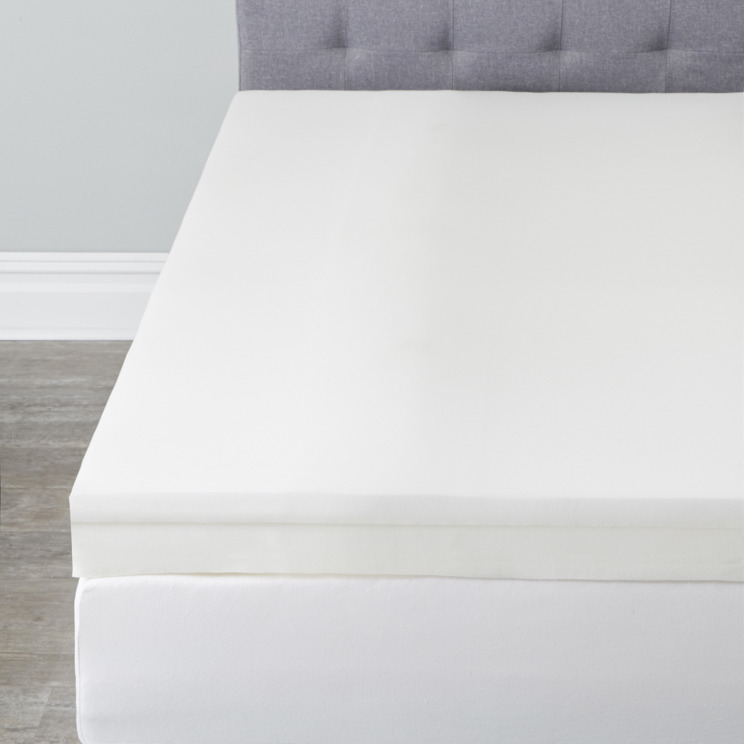 4' Invigorator Memory Foam Topper,