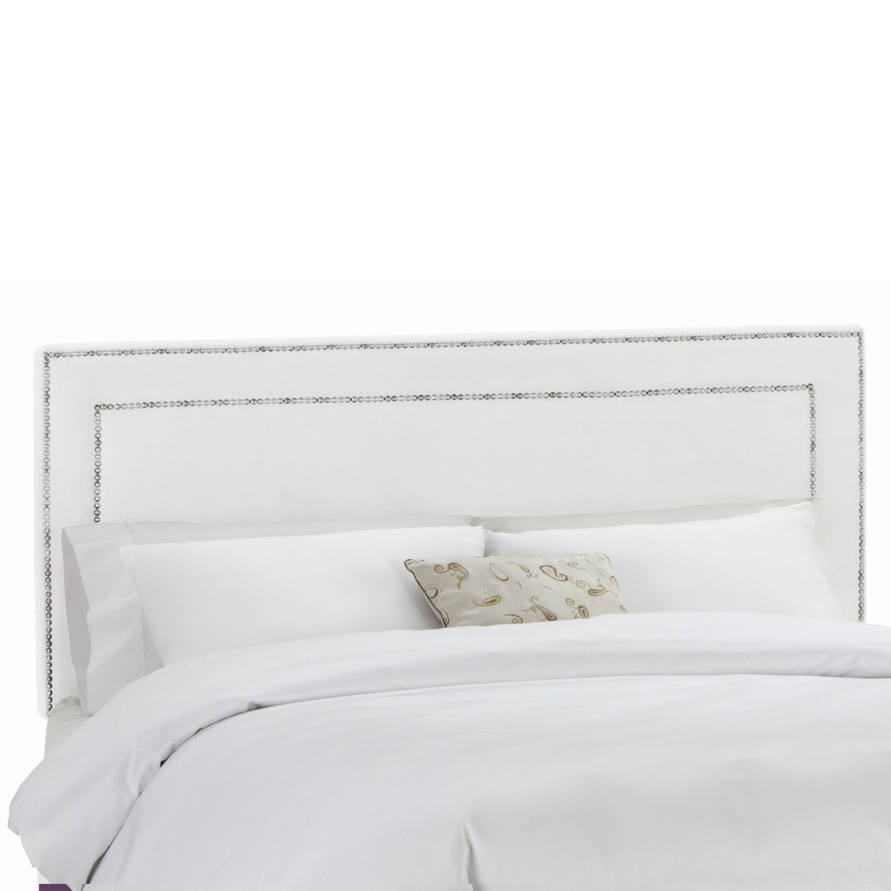 Queen Size, 62'Lx4'Wx51-54'H, WHITE