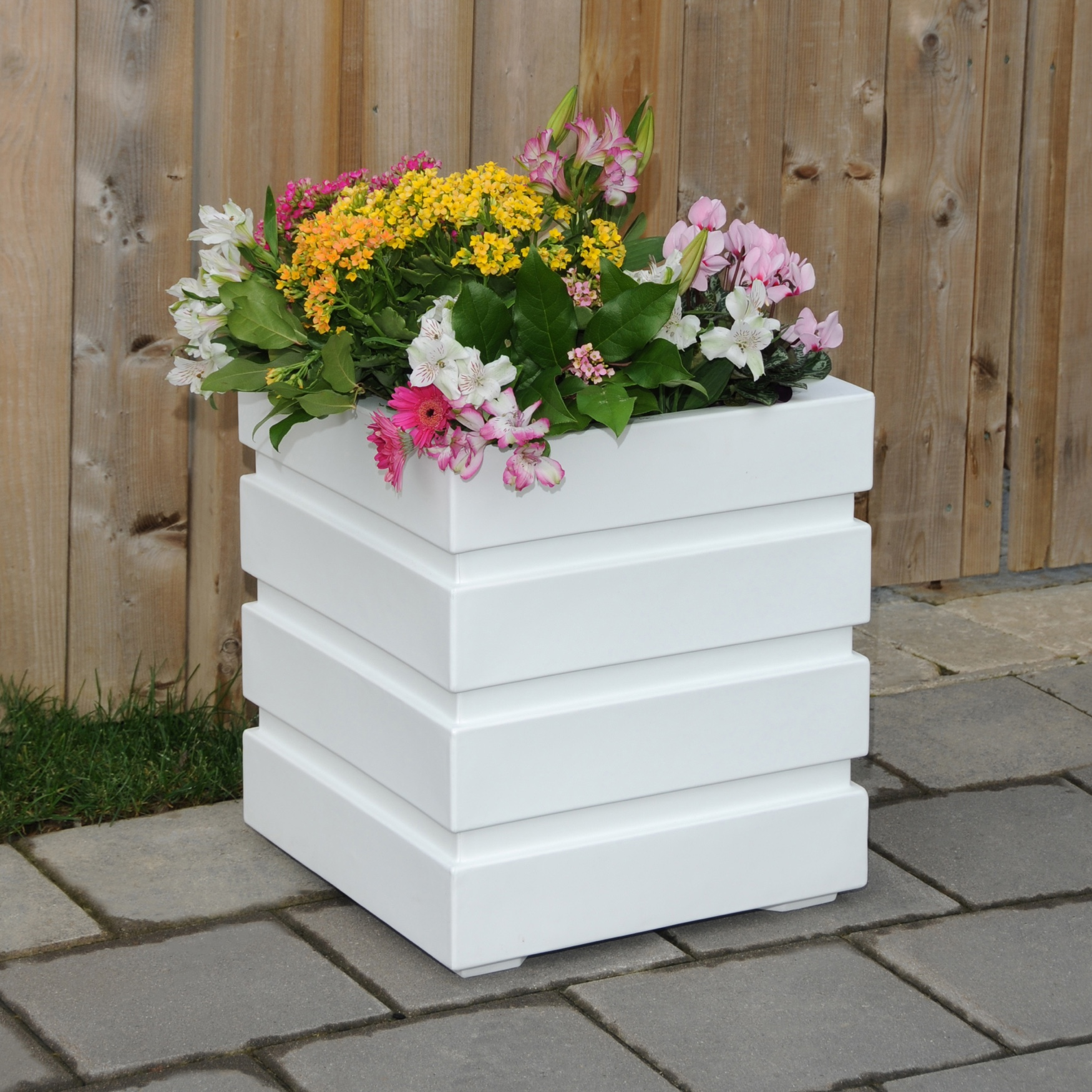 "Freeport Patio Planter 18""Sq.,"