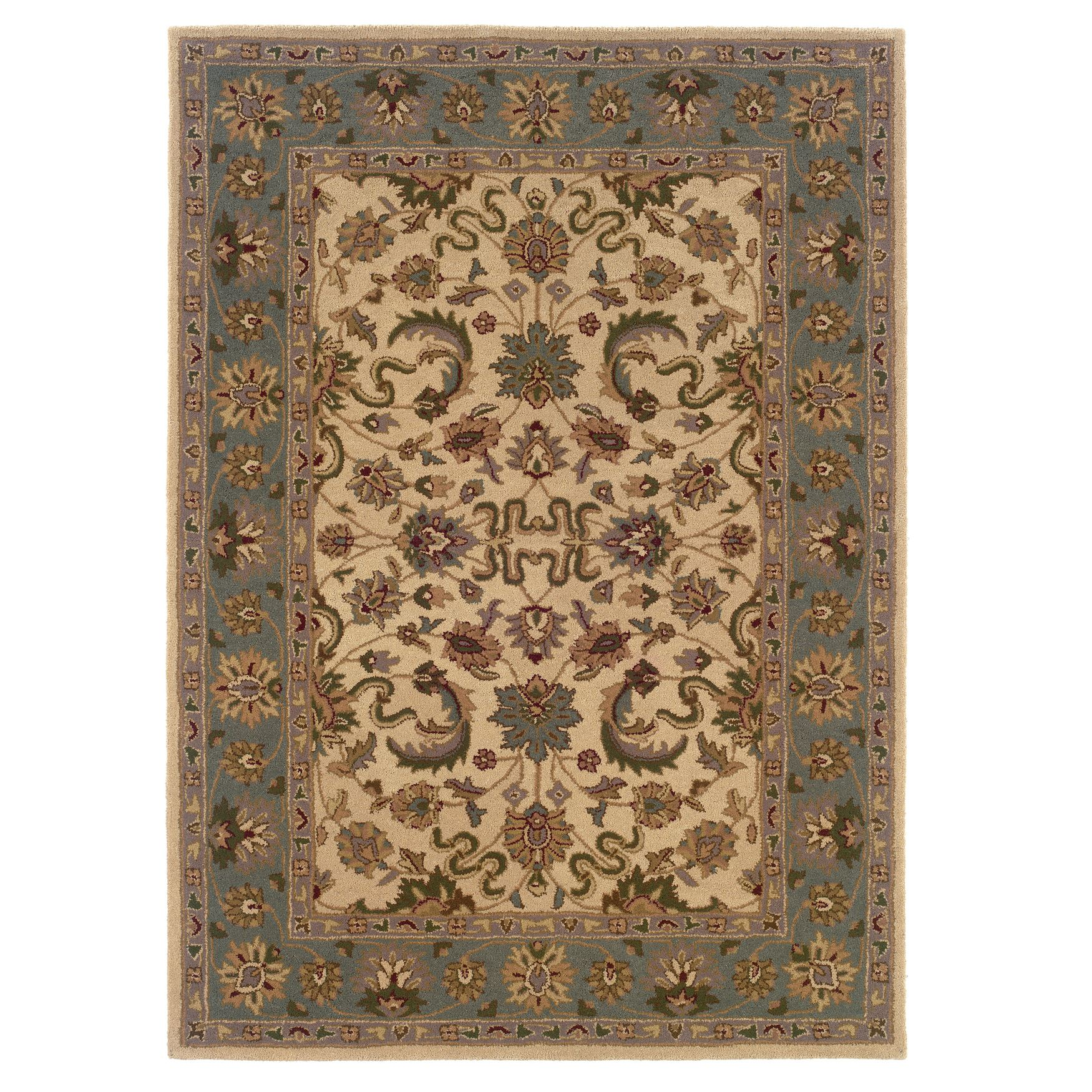 Trio Traditional Cream Area Rug Collection,
