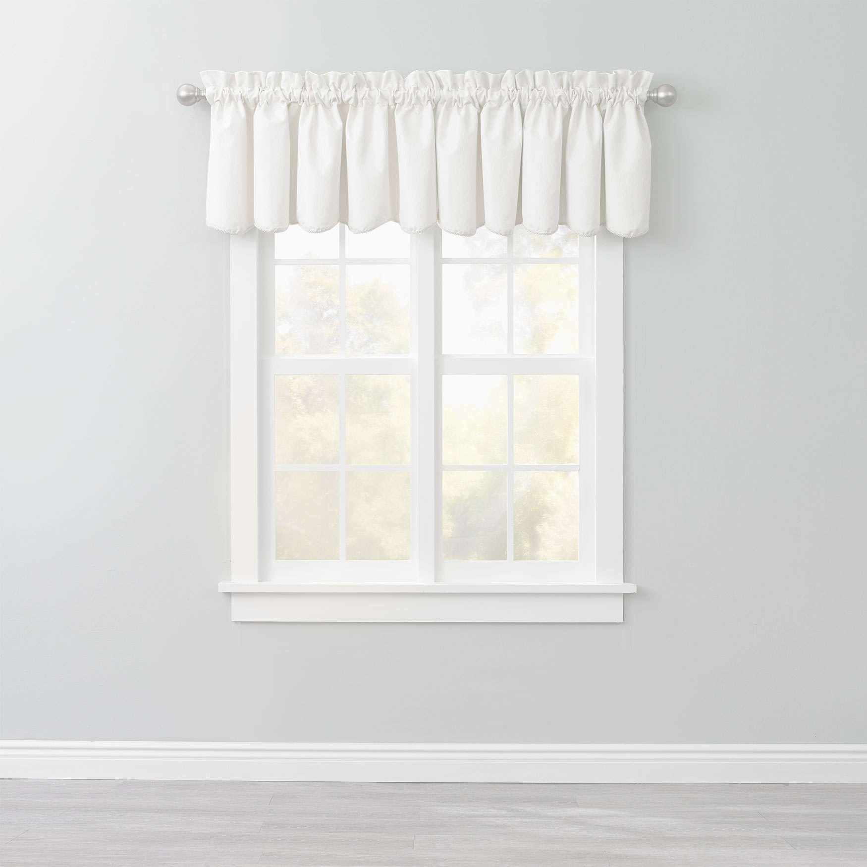 Charlotte Thermal Rod-Pocket Valance,