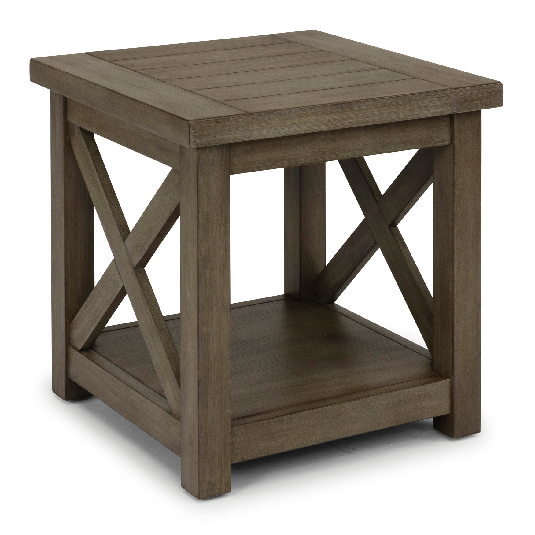 Mountain Lodge End Table by Home Styles, MULTI GRAY