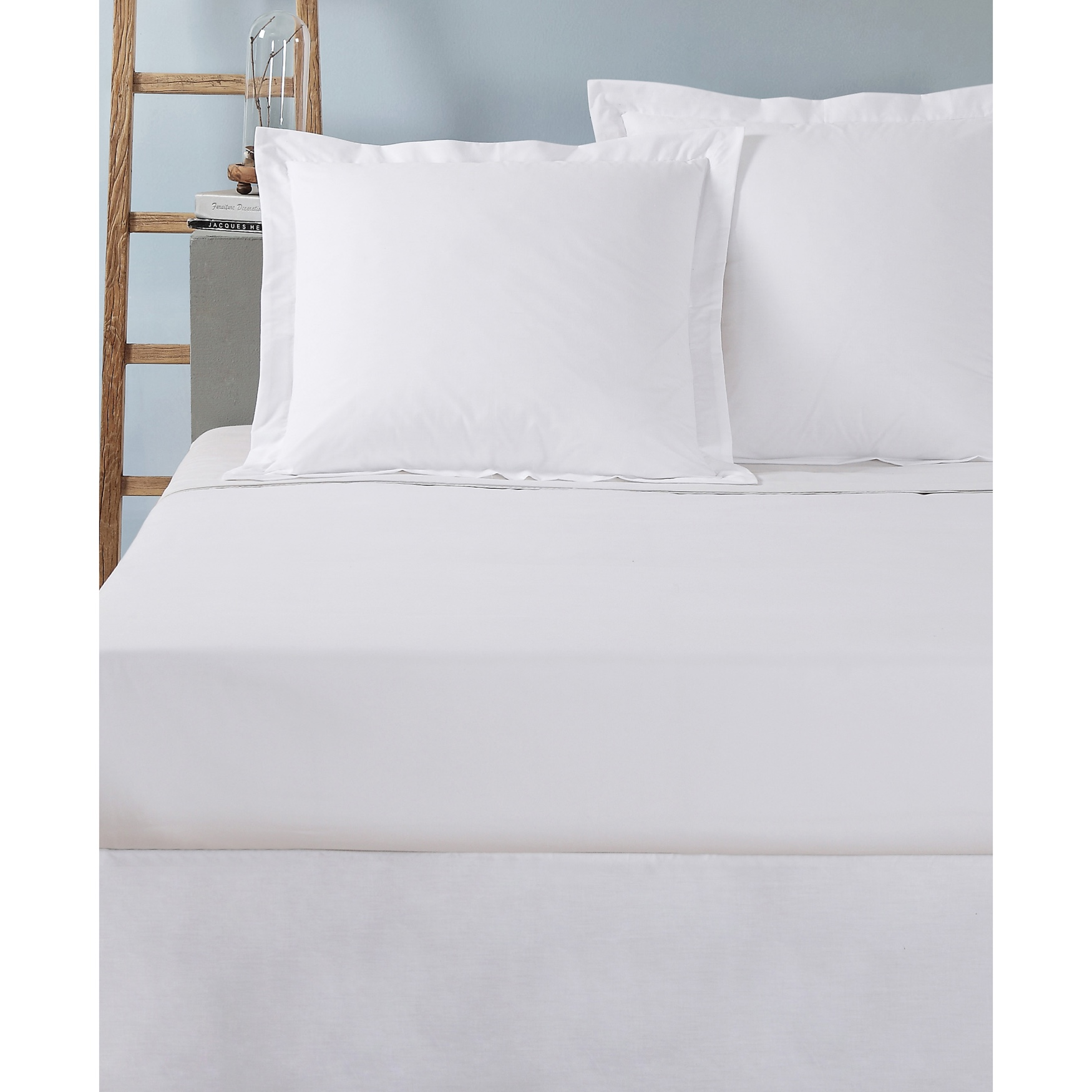 Today's Home Cotton Rich Tailored 2-Pack Euro Sham,