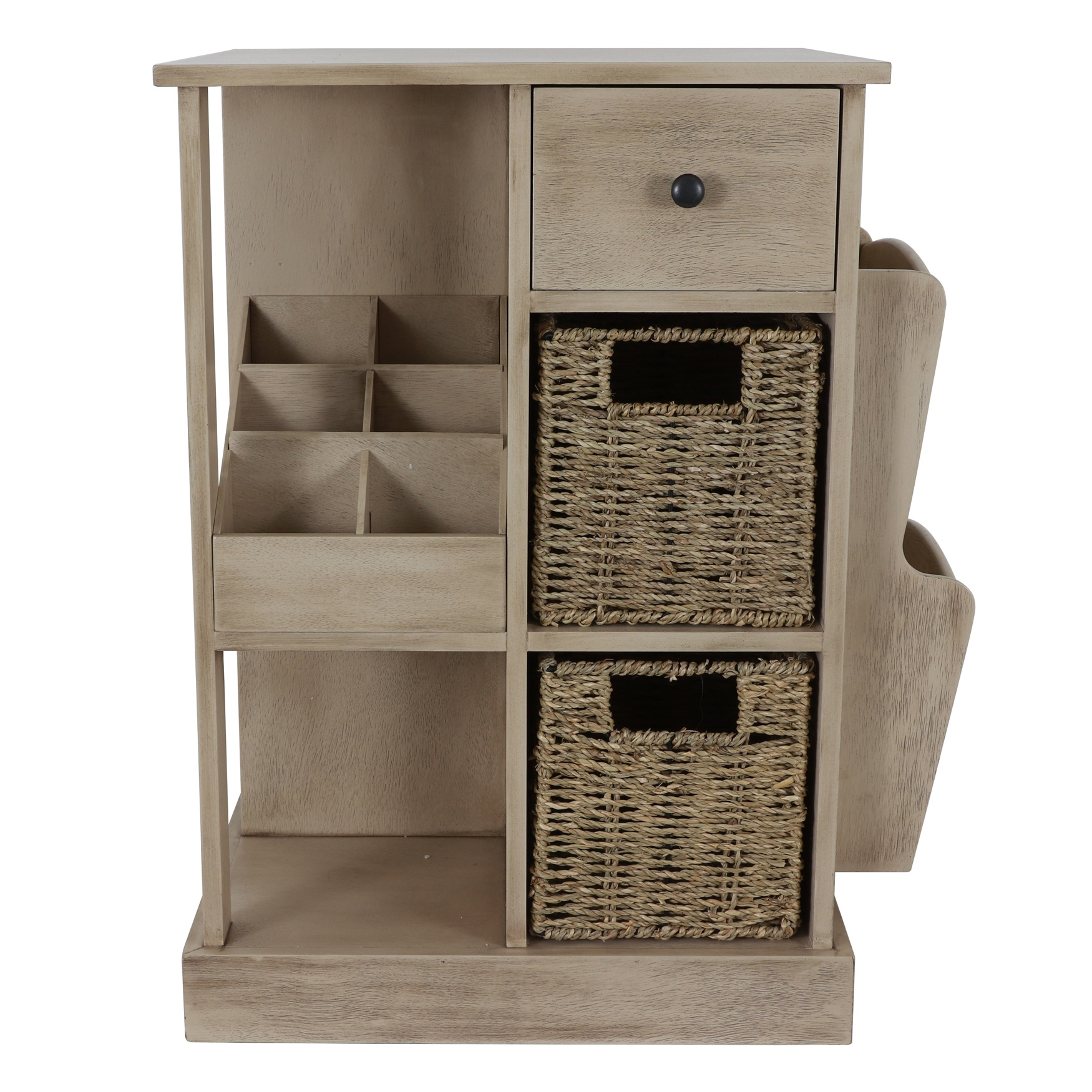 Accent Table with Storage & Shelves by J. Hunt, SAHARA