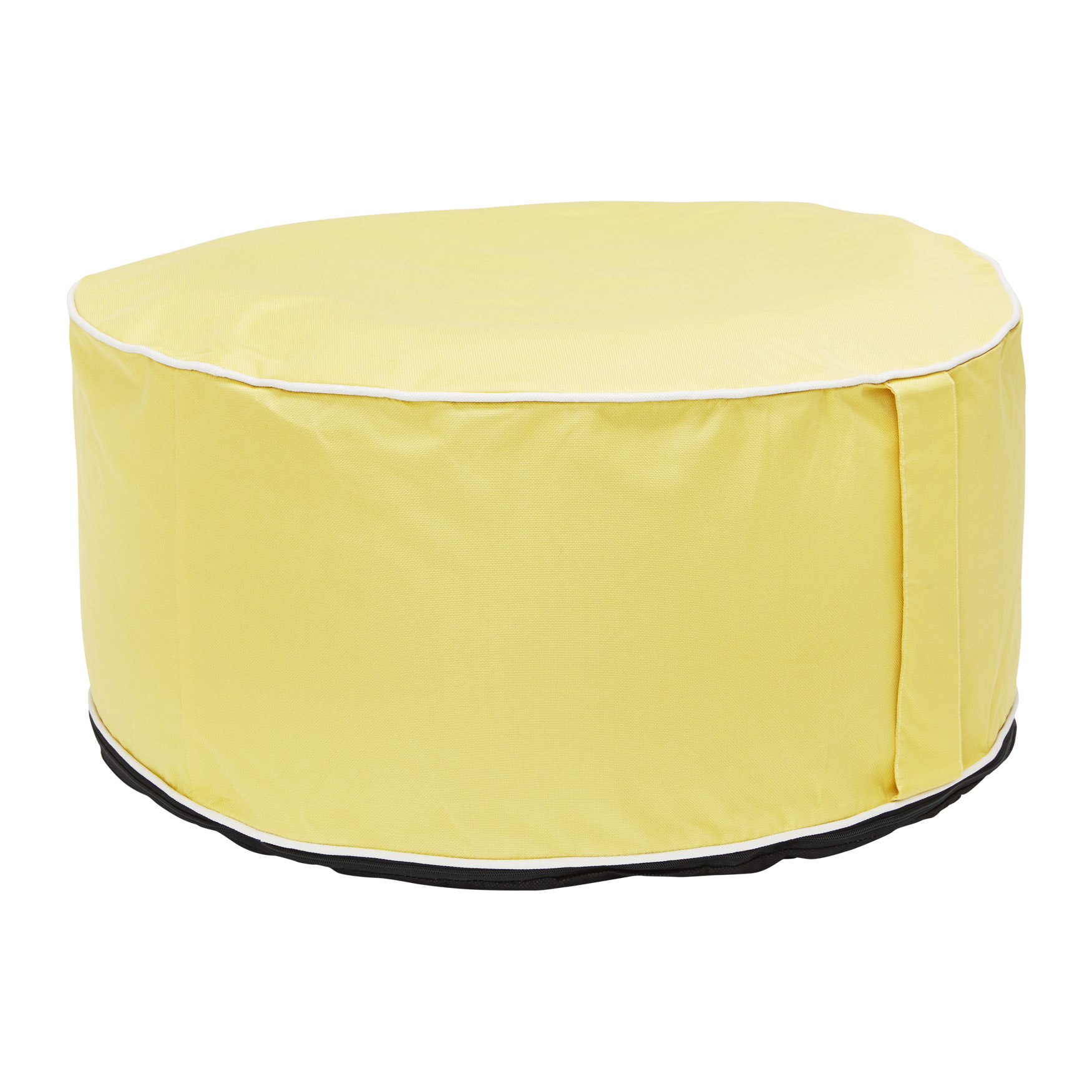 Splash N' Dash Inflatable Pouf, YELLOW
